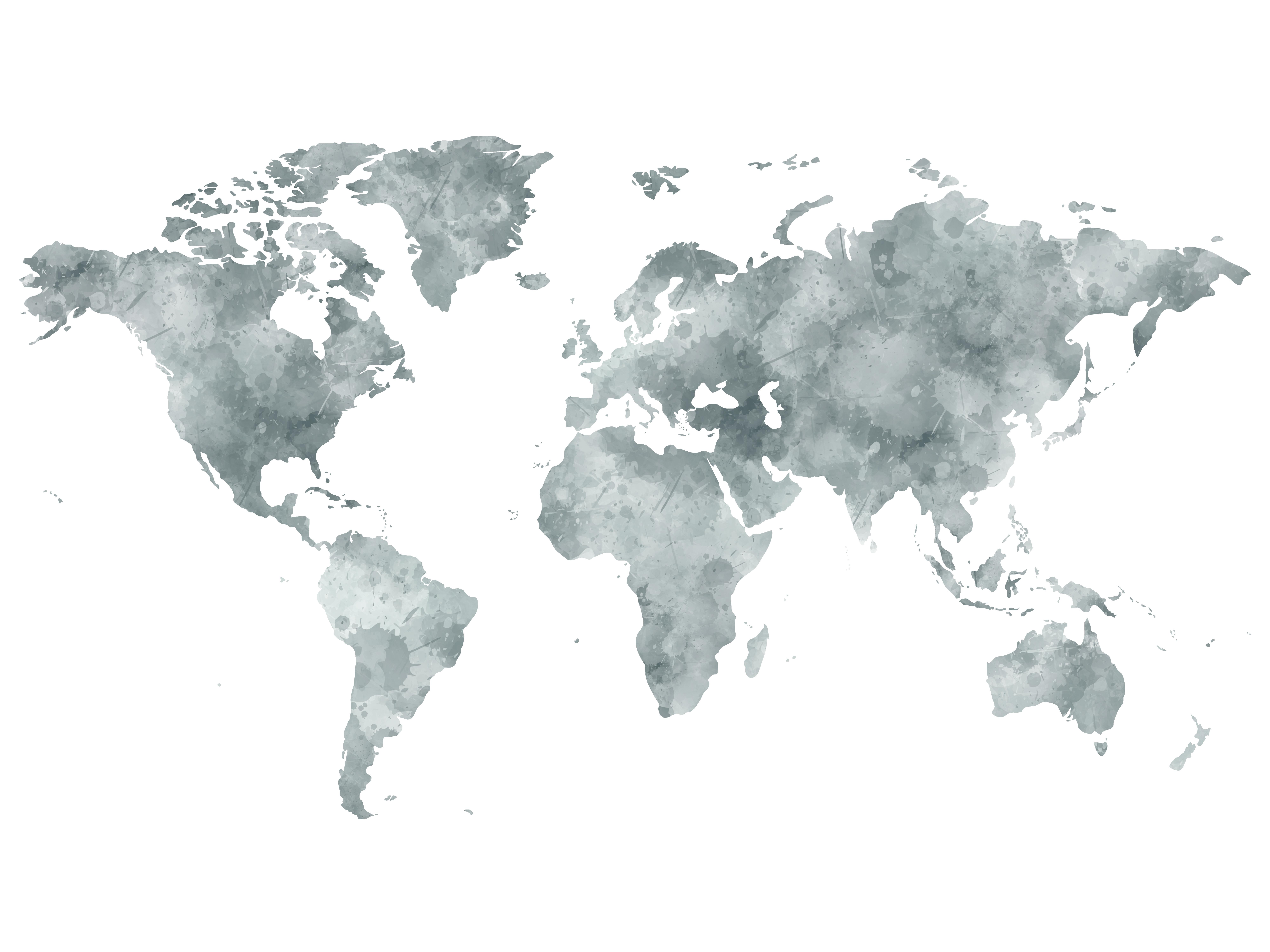 Carte Du Monde À Imprimer & Tuto Carte Du Monde Déco tout Dessin Mappemonde