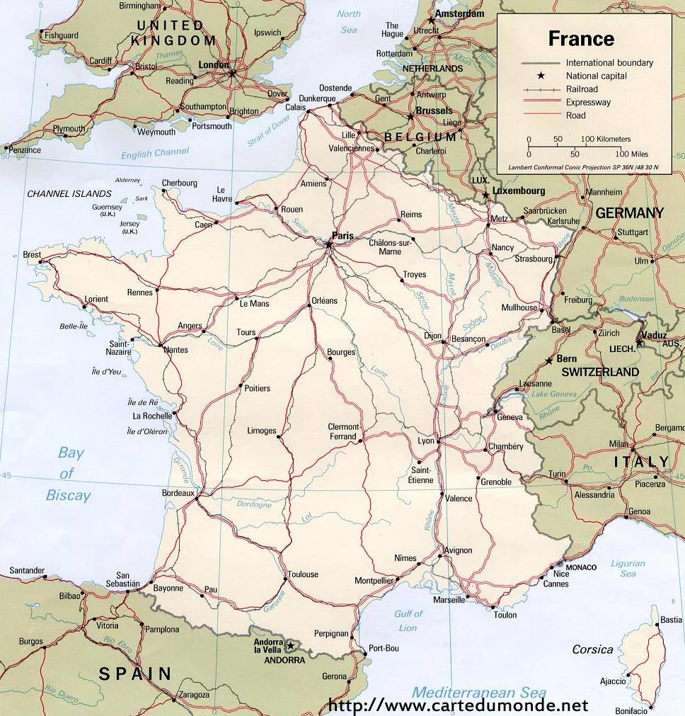 Carte France, Carte Pays France pour Imprimer Une Carte De France