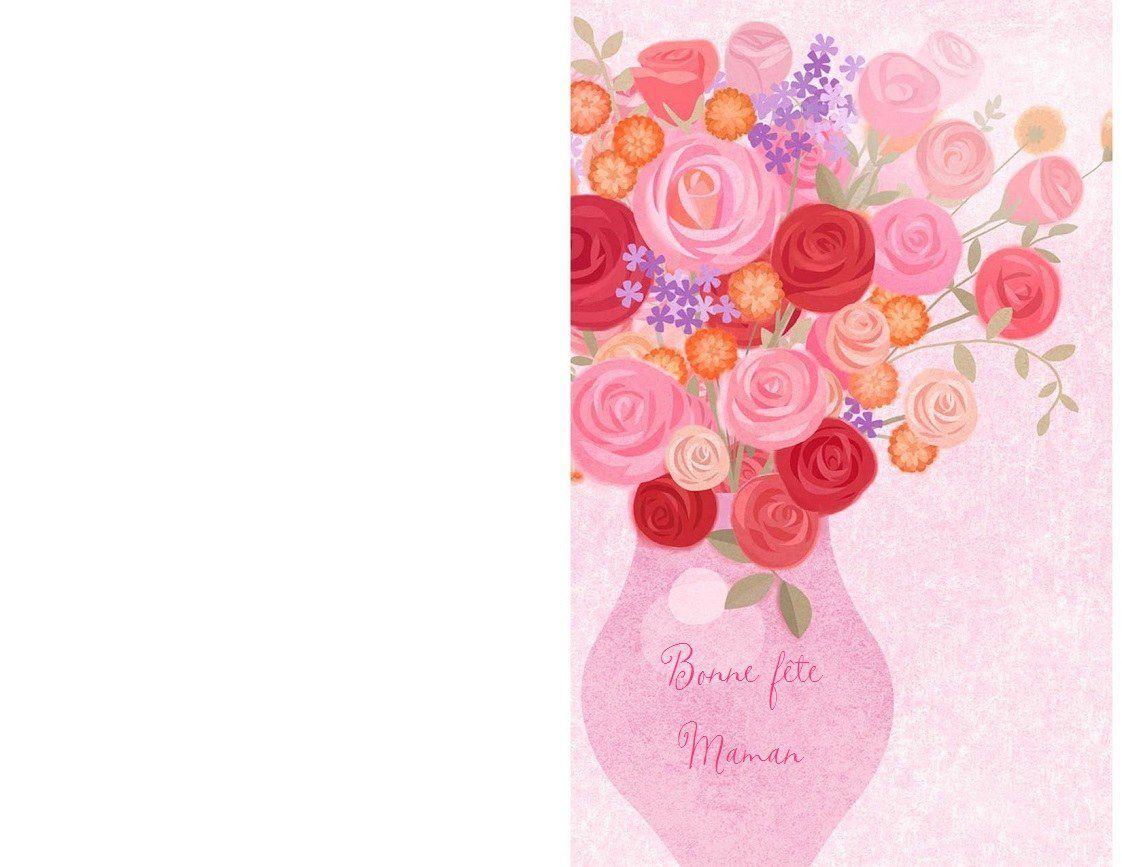 Cartes Bonne Fête Maman , À Imprimer ! - 1000 Idées À Faire concernant Carte Bonne Fete Maman A Imprimer