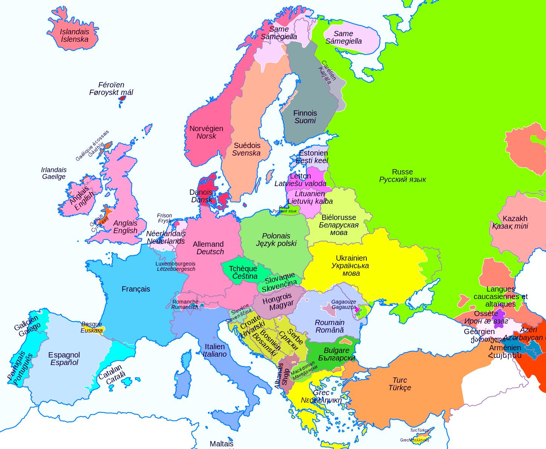 Cartes De L'europe Et Rmations Sur Le Continent Européen encequiconcerne Union Européenne Carte Vierge