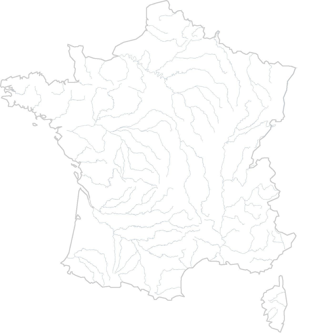 Cartes Vierges De La France À Imprimer - Chroniques destiné Carte Des Régions Vierge