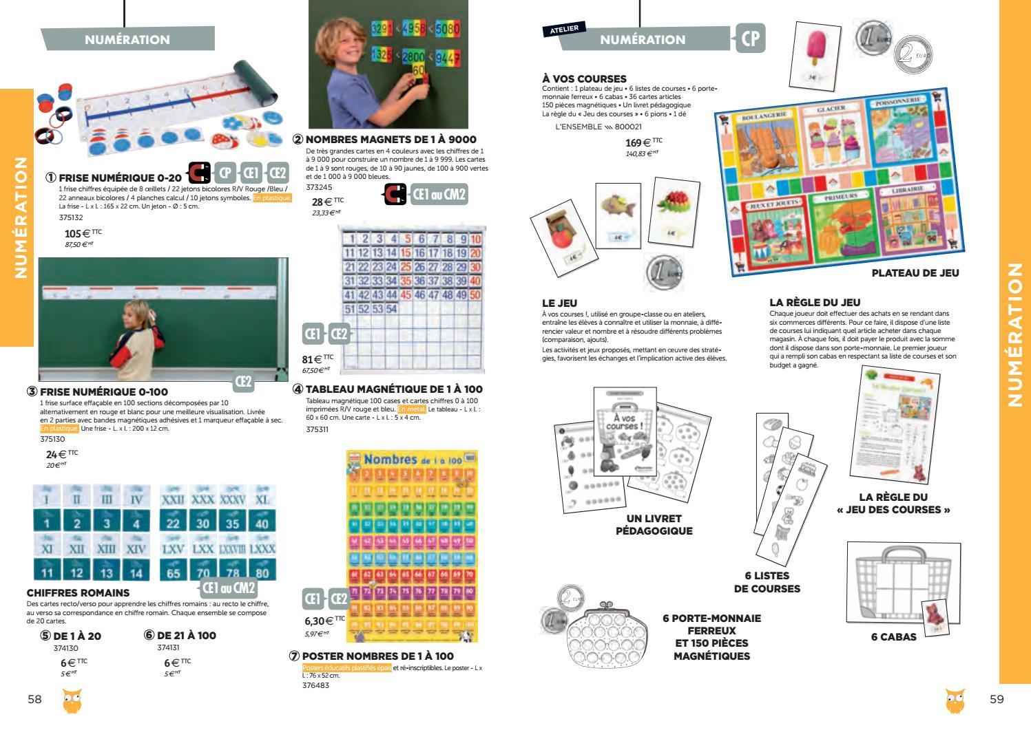 Catalogue Bourrelier Education 6 11 Ans 2018 By Bourrelier intérieur Les Nombres De 0 À 20