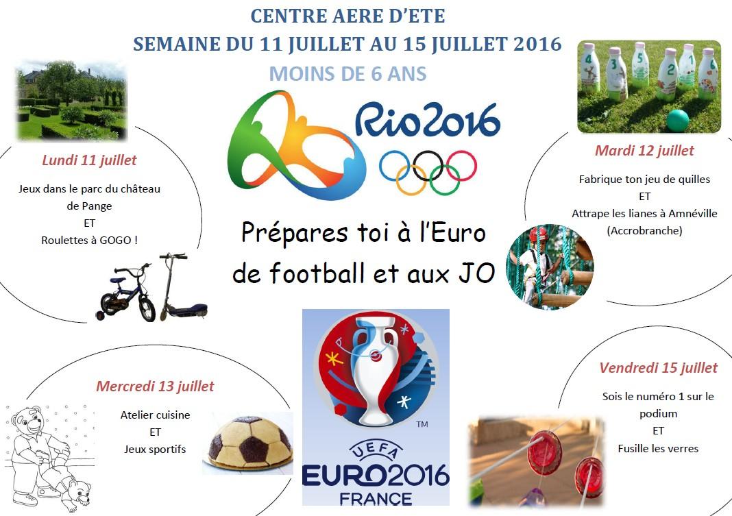 Centre Aéré   Sivu Scolaire De Pange dedans Jeux Sportifs 6 12 Ans