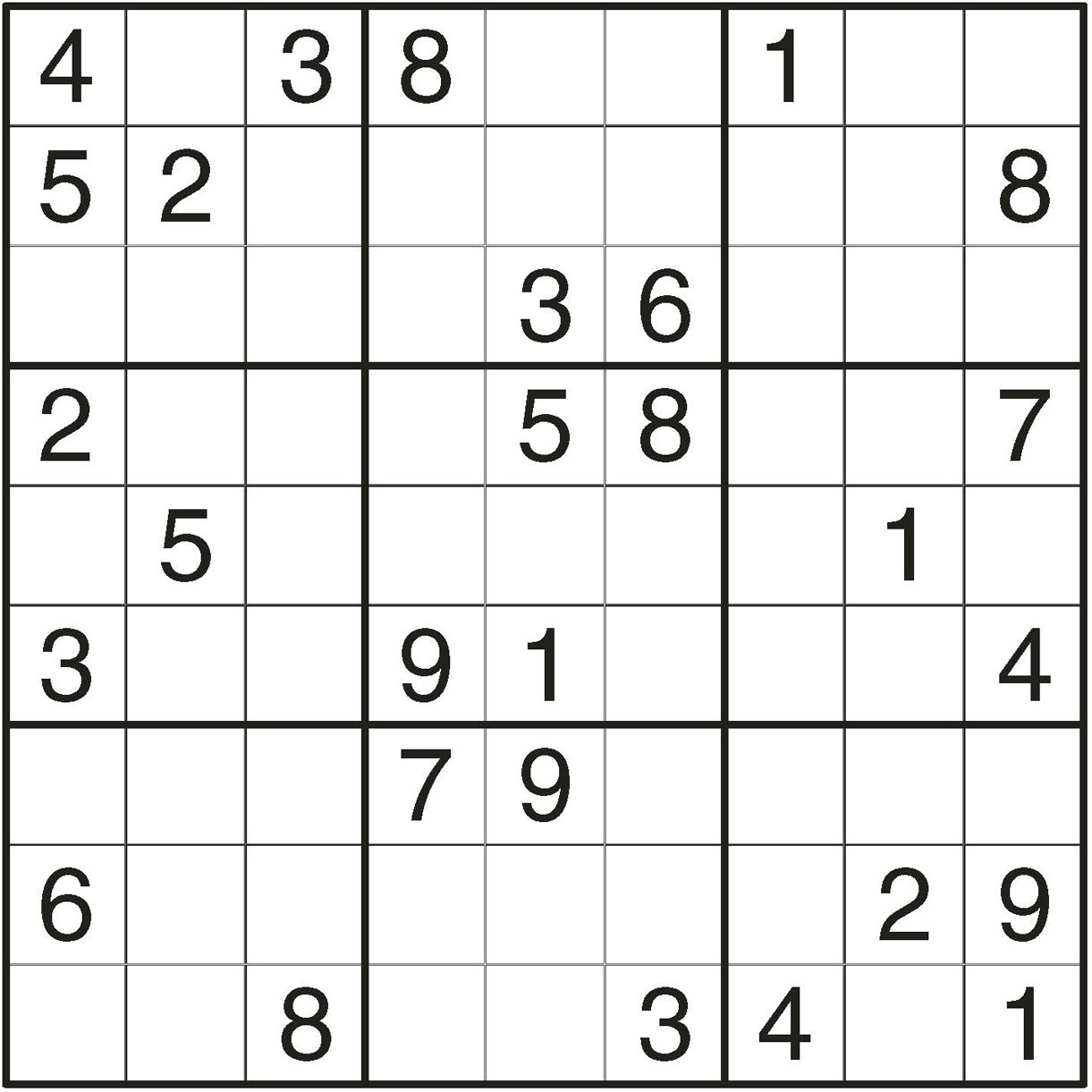Challenging Puzzle | Challenging Sudoku 13 Challenging à Sudoku Grande Section
