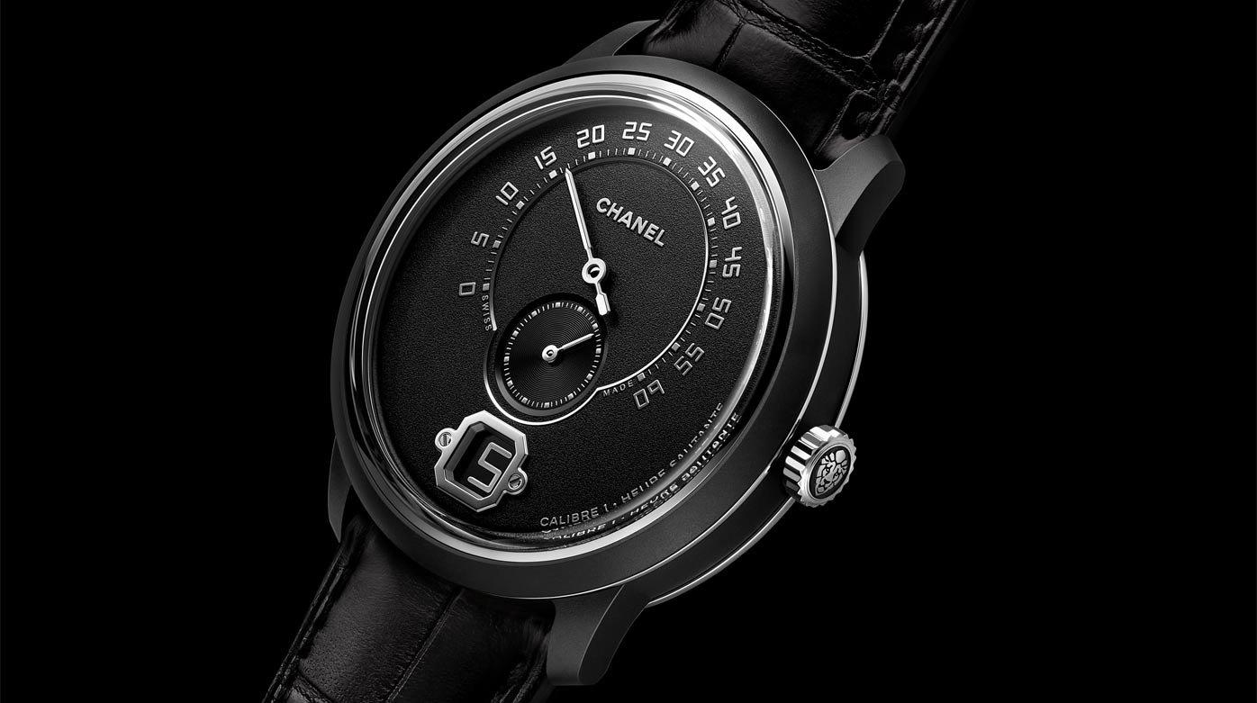 Chanel - Monsieur De Chanel Edition Noire - Style & Tendance pour Monsieur Le Montre