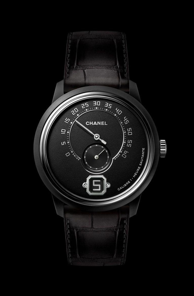 Chanel Présente La Montre Monsieur Edition Noire (Avec intérieur Monsieur Le Montre