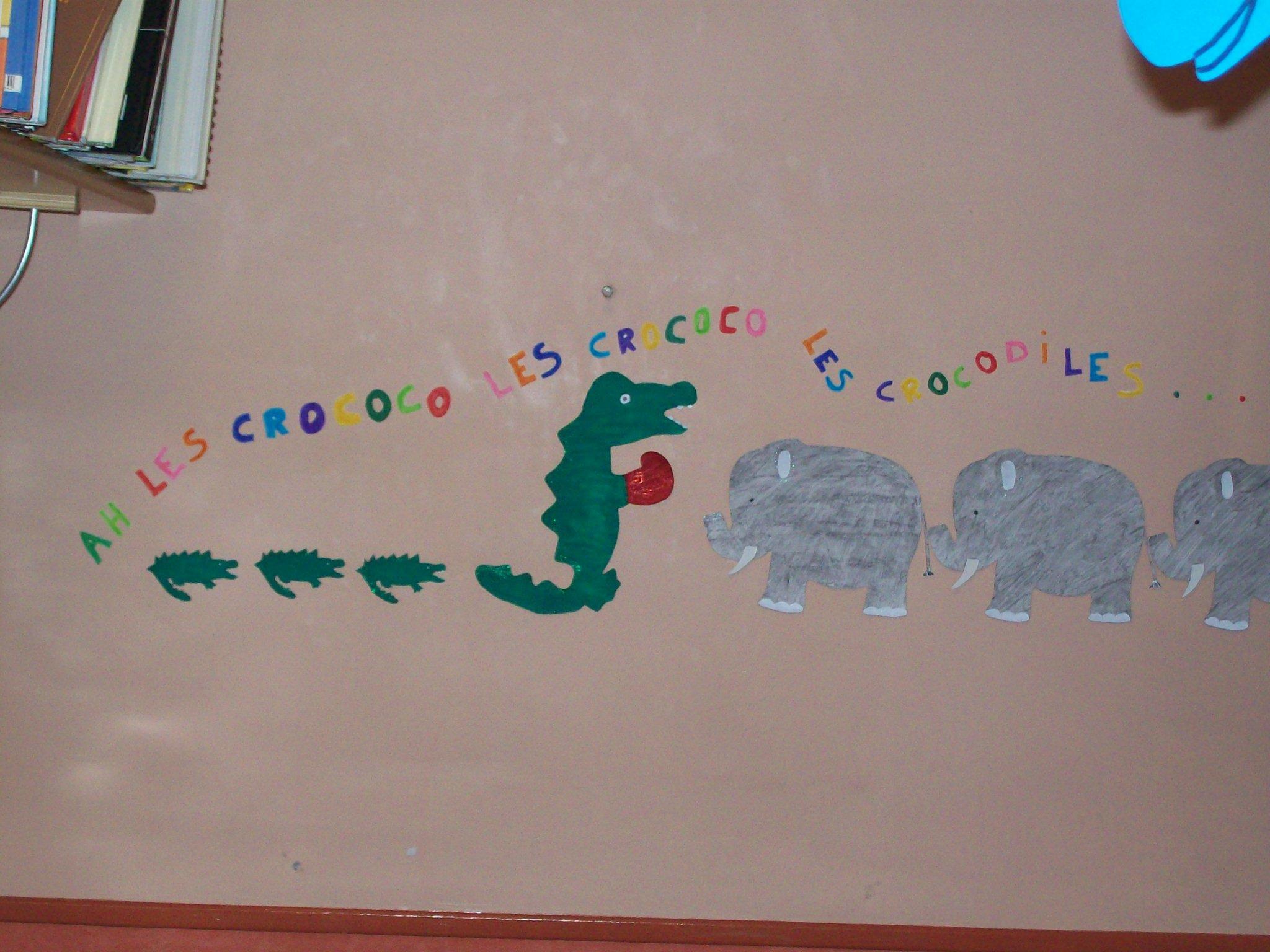 Chanson Ah Les Crocodiles – Education-Enfance.fr à Ah Les Cro