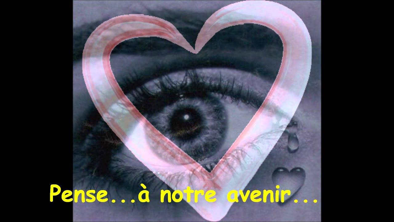 (Chanson Amour) Aime-Moi, Reviens-Moi !!! dedans Chanson Pense À Moi