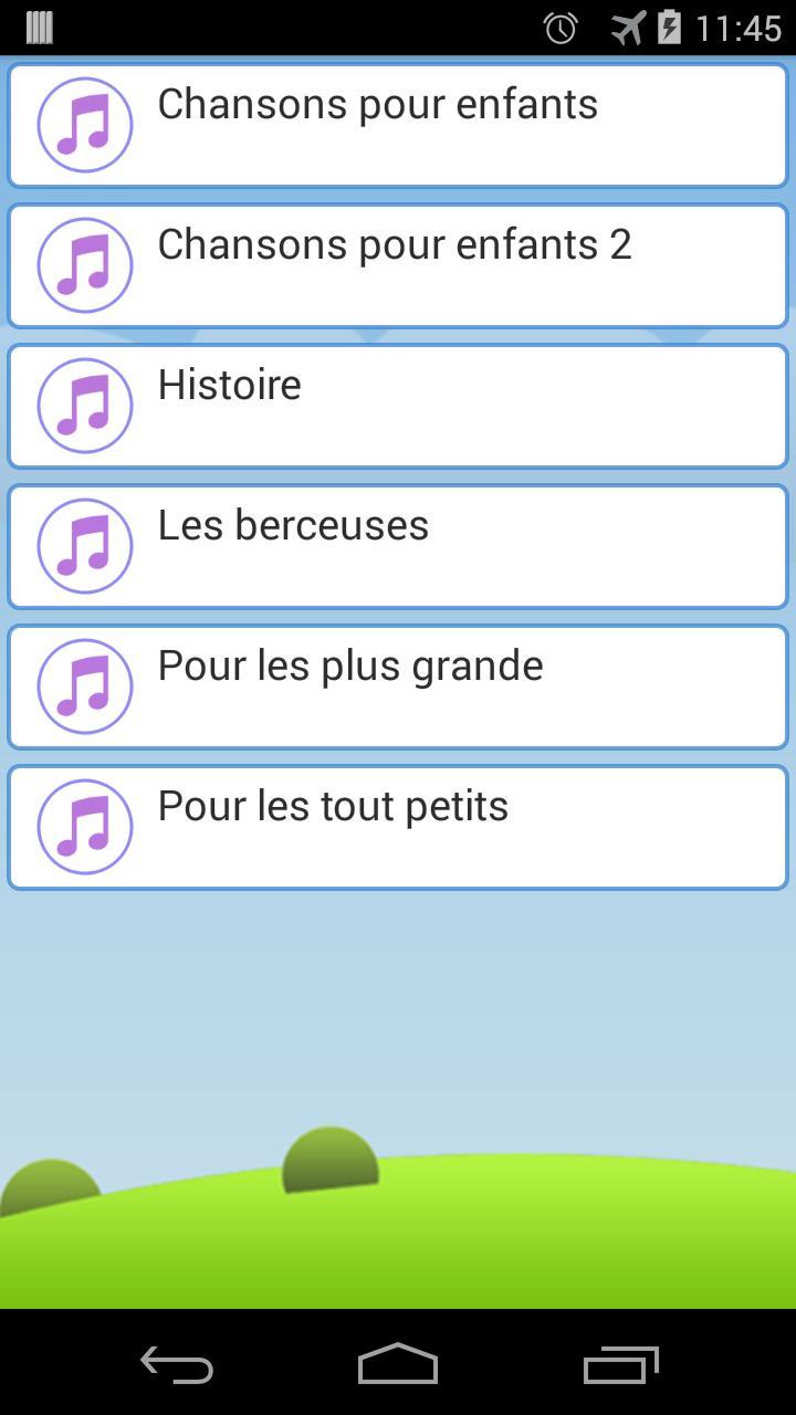 Chanson Bébé - Comptines For Android - Apk Download concernant Chanson Pour Bebe 1 An