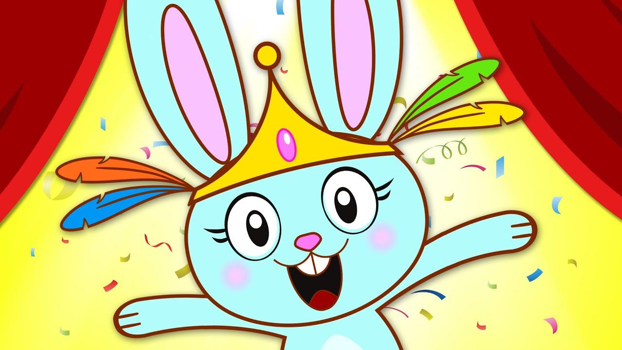 Chanson De Lapin - The Bunny Hop Song   pour Chanson Enfant Lapin