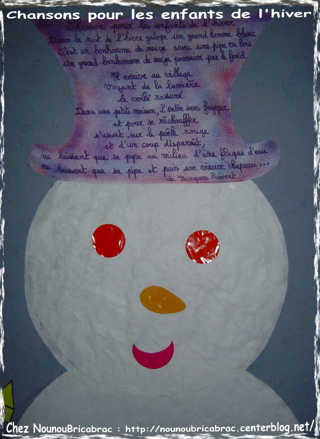 Chanson Pour Les Enfants De L'hiver Poésie Ou Formulette encequiconcerne Dans La Nuit De L Hiver Chanson