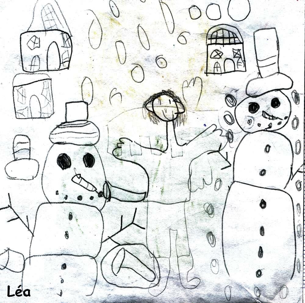 Chanson Pour Les Enfants L'hiver - Le Crayon Magique intérieur Dans La Nuit De L Hiver Chanson