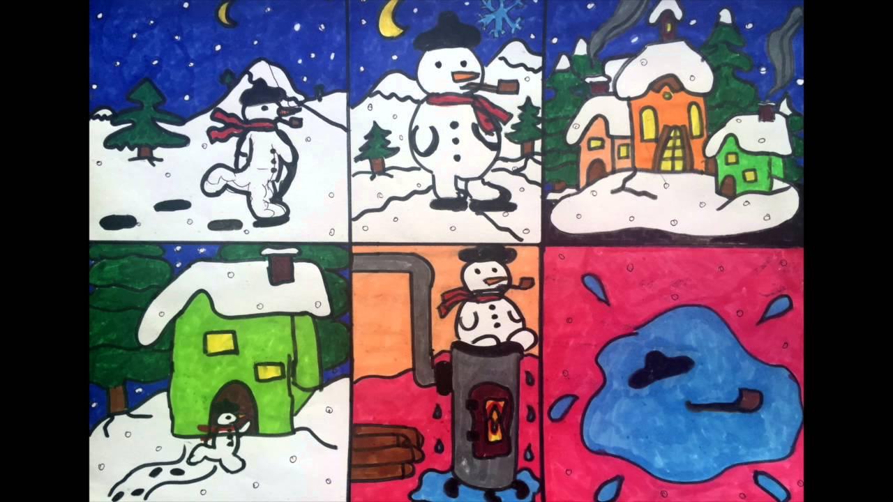 Chanson Pour Les Enfants L'hiver pour Dans La Nuit De L Hiver Chanson
