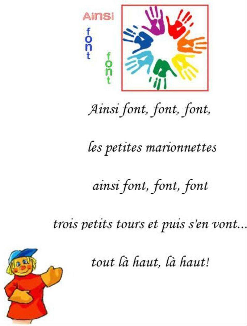 Chansons Des Petits à Les Petites Marionnettes Chanson