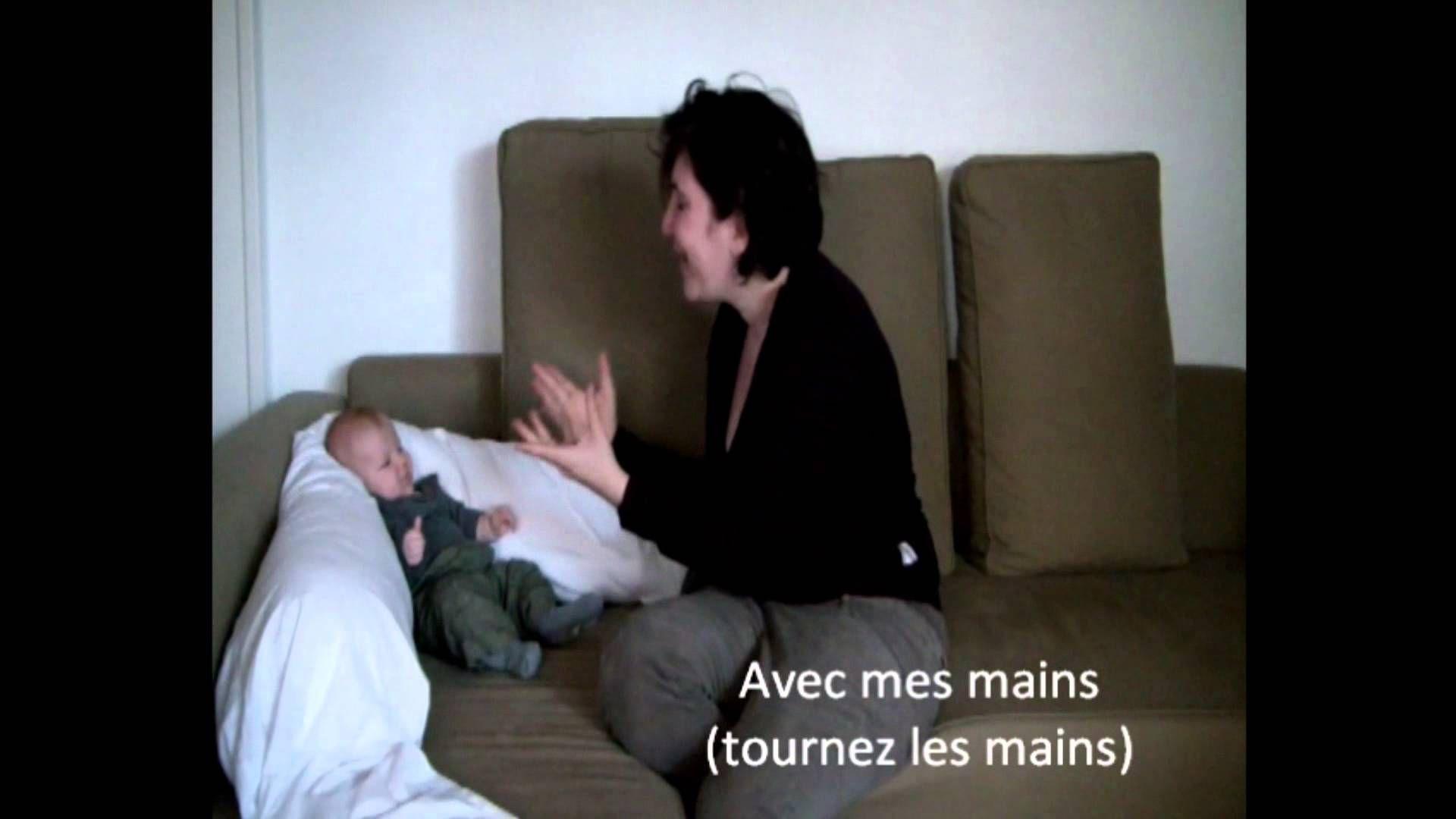 Chansons Mimées - Jeux De Mains Pour Enfants | Comptine intérieur Petit Moulin Chanson
