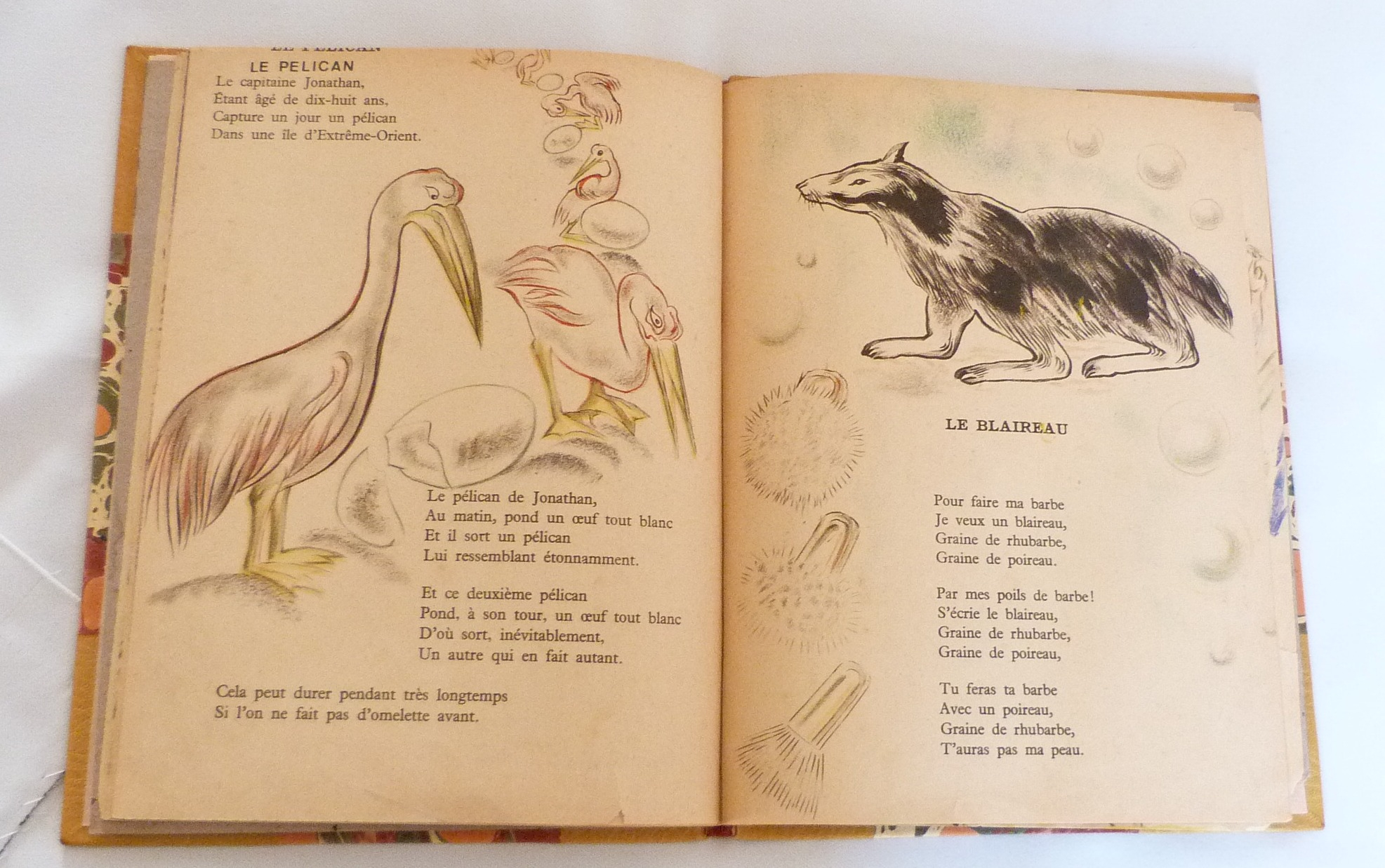 Chantefables De Robert Desnos - Reliure D'art Dare destiné Poème De Robert Desnos