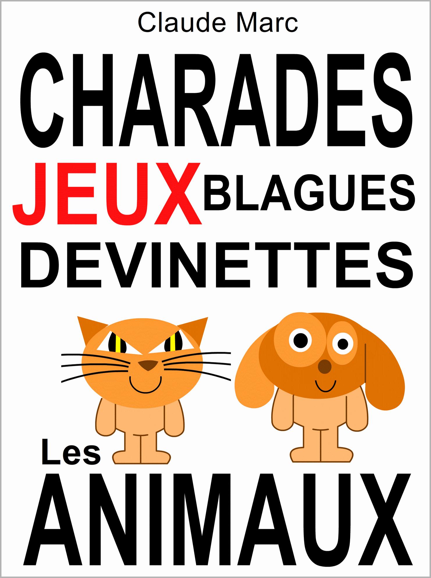 Charades Et Devinettes Sur Les Animaux. Jeux Et Blagues Pour Enfants. serapportantà Jeux De Lettres Enfants