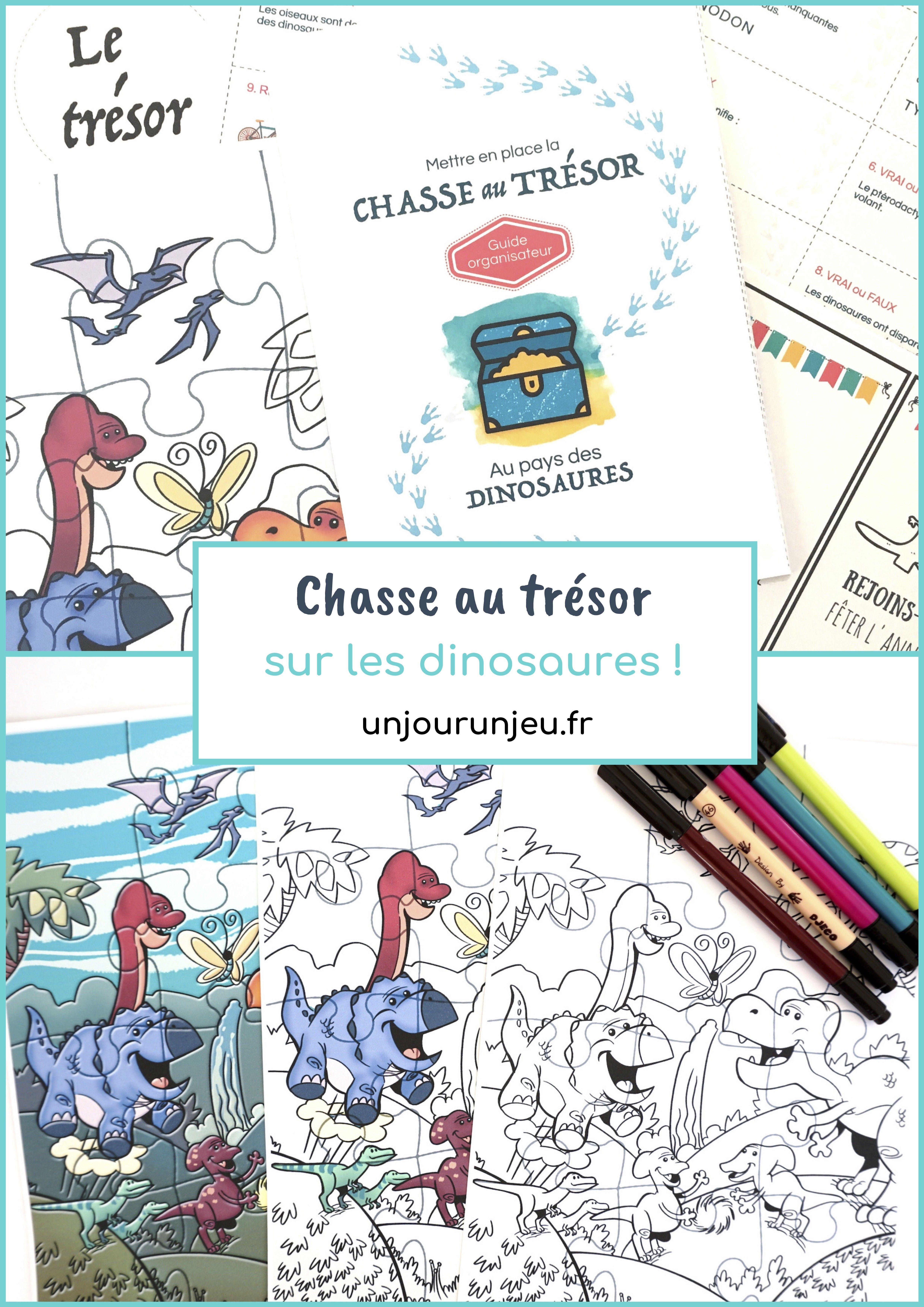 Chasse Au Trésor À Imprimer Immédiatement Sur Les Dinosaures intérieur Activité Chasse Au Trésor