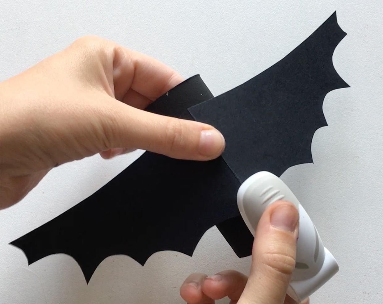Chauve-Souris D'halloween En Rouleau De Papier Toilette [Vidéo] pour Origami Chauve Souris