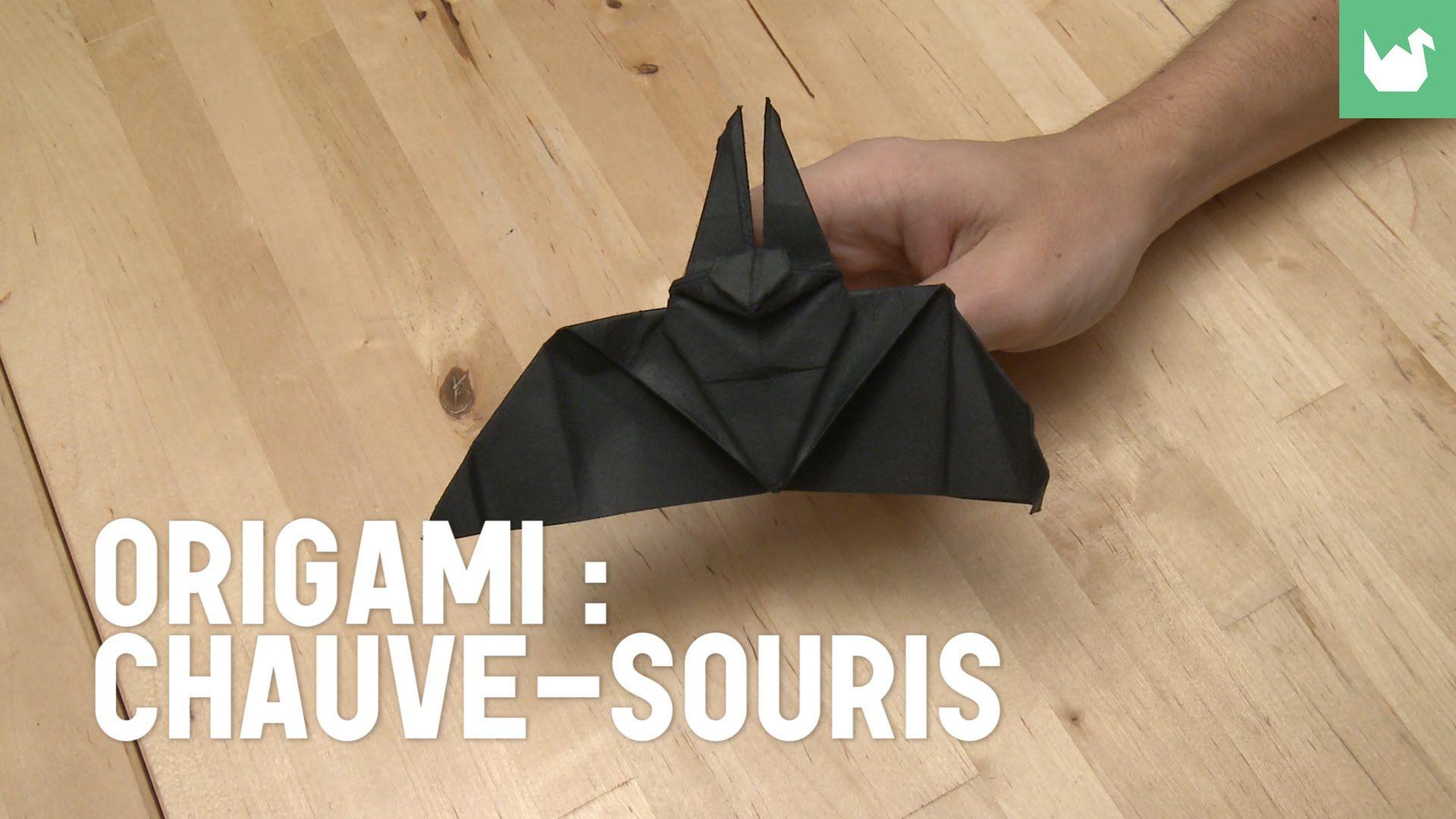 Chauve-Souris En Origami   Chauve Souris, Tutoriel D'origami tout Origami Chauve Souris