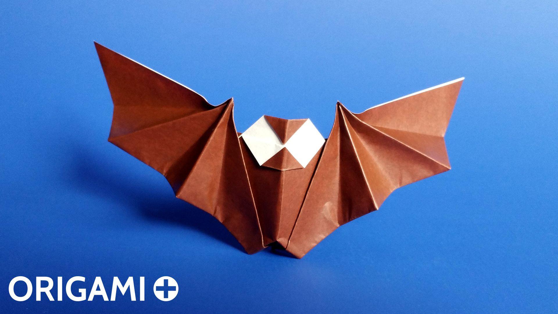 Chauve-Souris En Origami pour Origami Chauve Souris