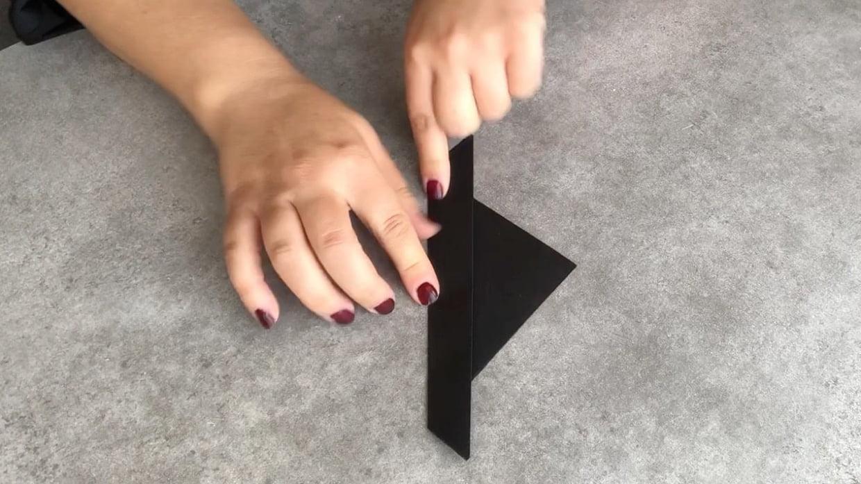 Chauve-Souris Halloween En Origami, Pliage Papier [Video] à Origami Chauve Souris