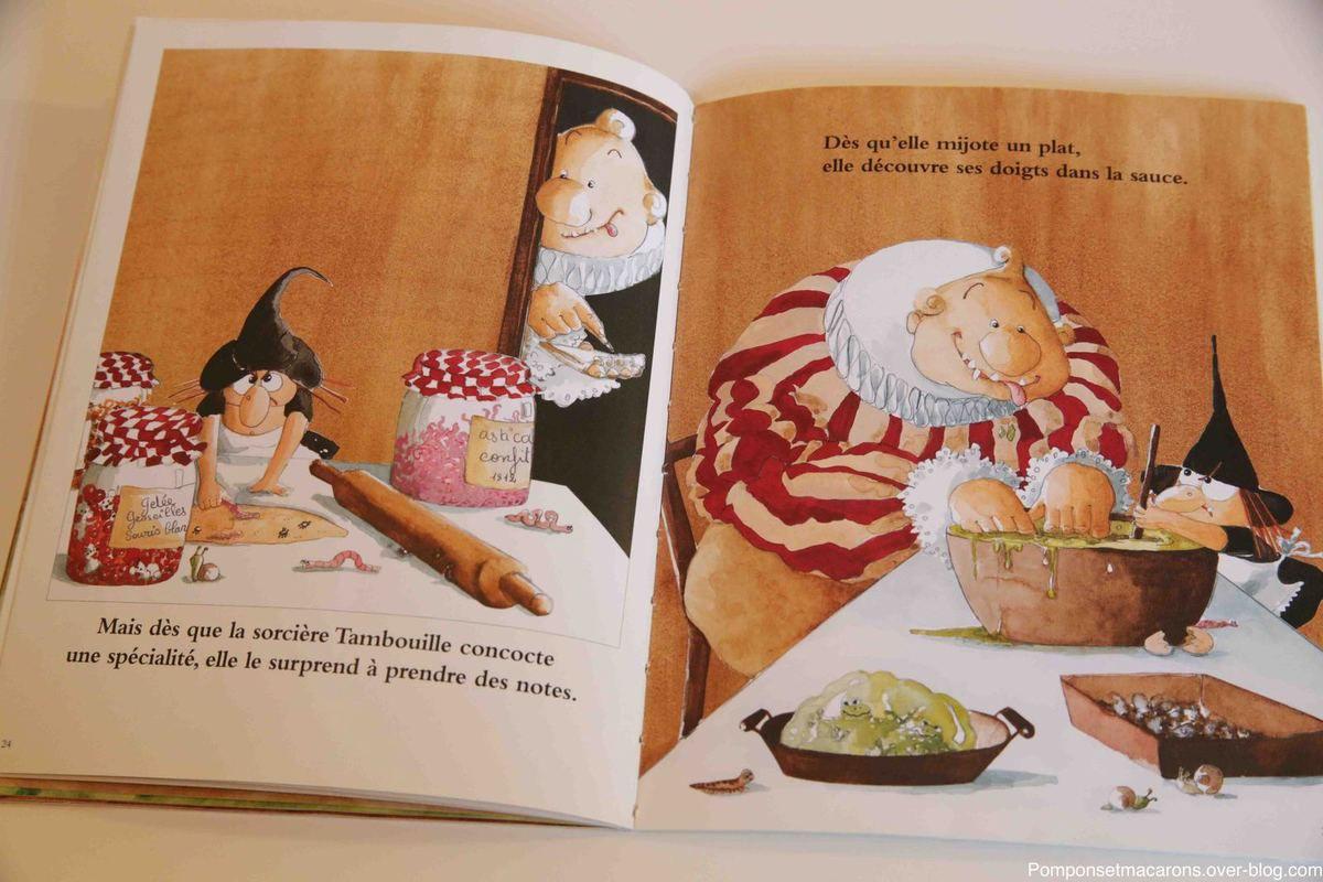 Chut Les Enfants Lisent#11: Nos Deux Sorcières Préférées destiné La Sorciere Tambouille