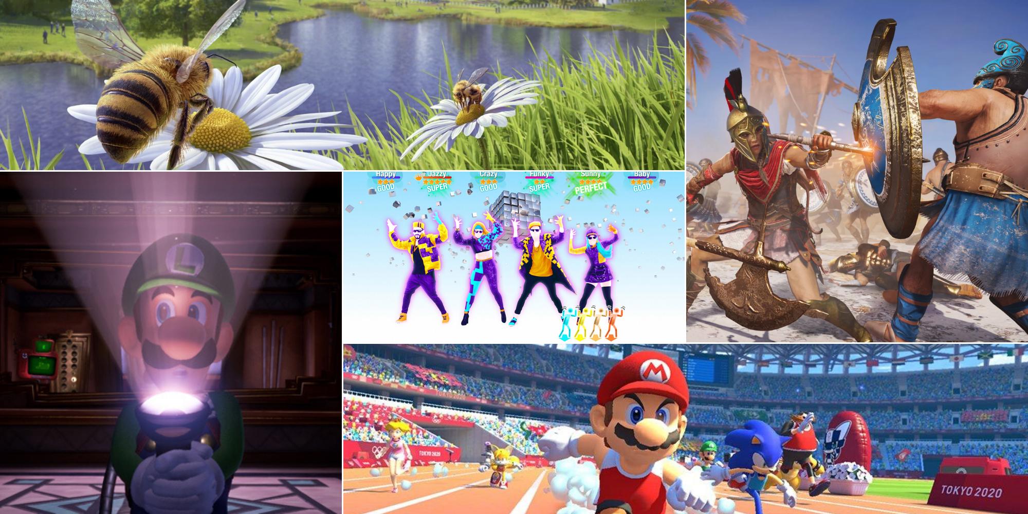 Cinq Jeux Vidéo Pour Jouer En Famille Pendant Le Confinement serapportantà Ce Soir On Joue En Famille 3