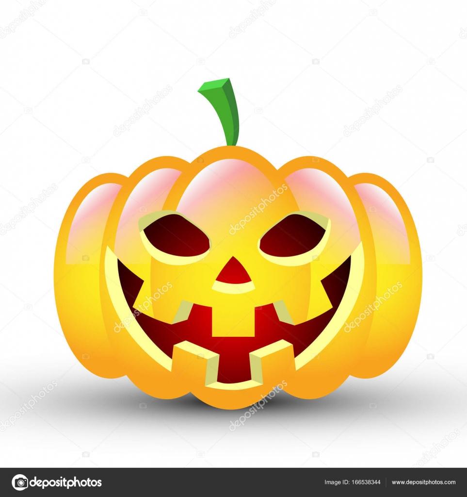 Citrouille D'halloween — Image Vectorielle Kraft2727 serapportantà Photo De Citrouille D Halloween