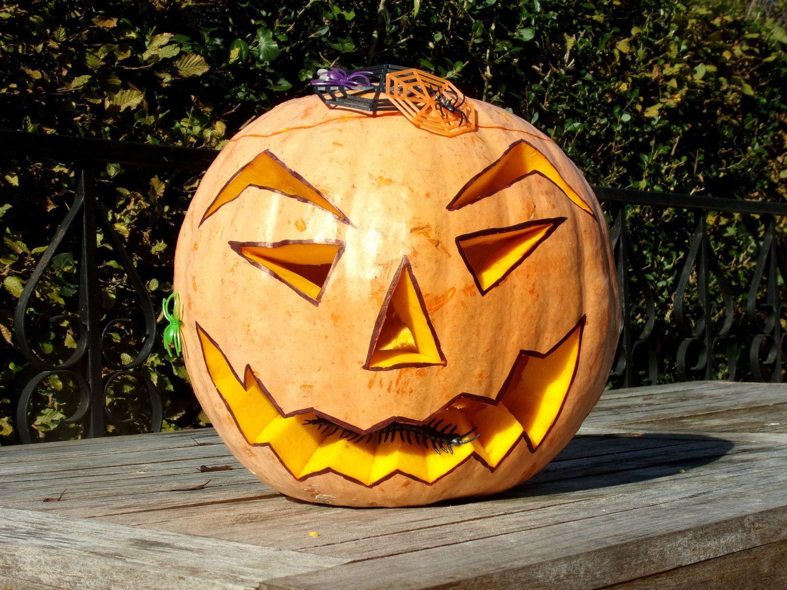 Citrouille D'halloween - La P'tite Cuisine De Sybille pour Photo De Citrouille D Halloween
