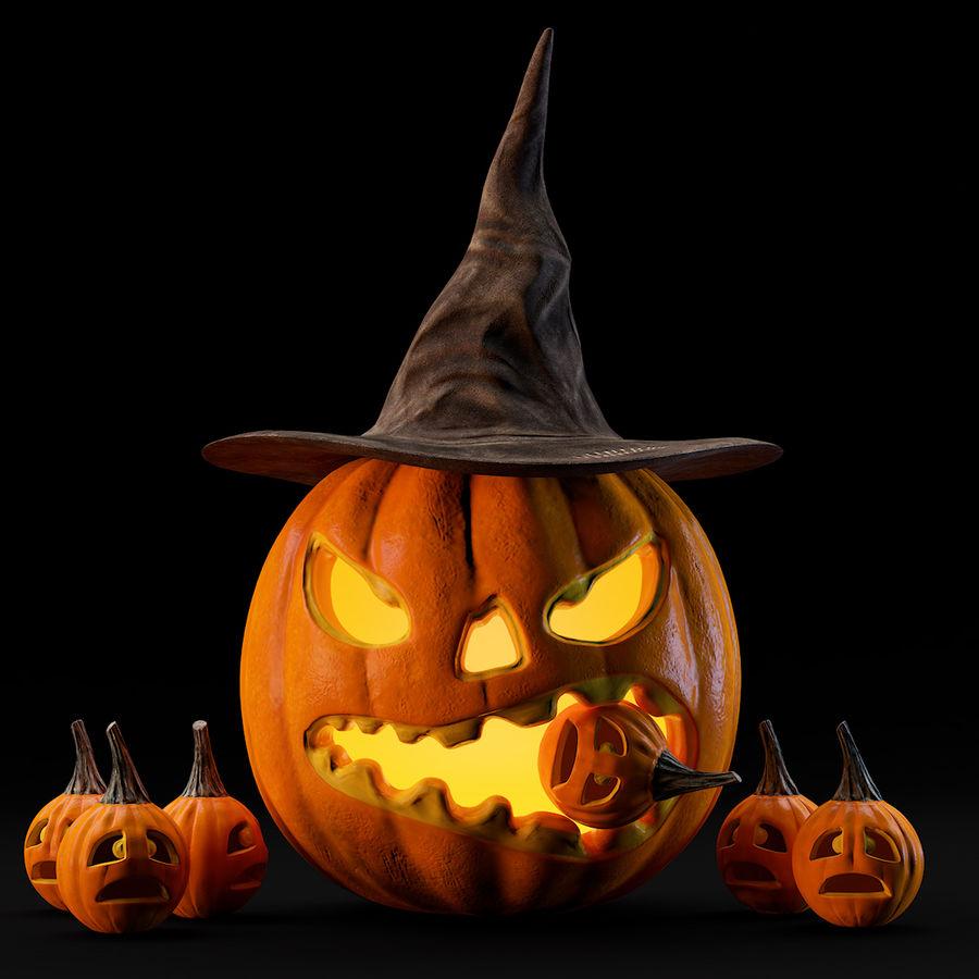 Citrouille D'halloween Modèle 3D $49 - .unknown .c4D .obj avec Photo De Citrouille D Halloween