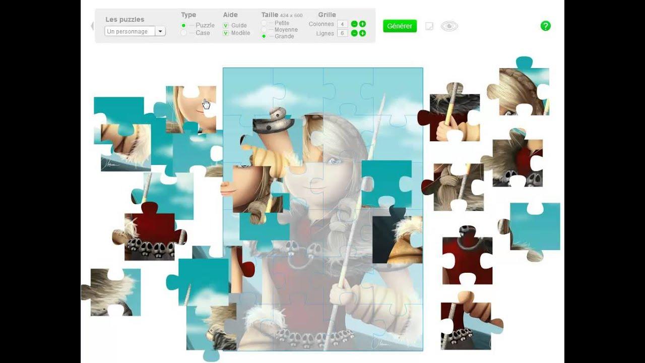 Classetice - 5 Applications Pour Générer Des Puzzles Pour La destiné Puzzle En Ligne Enfant