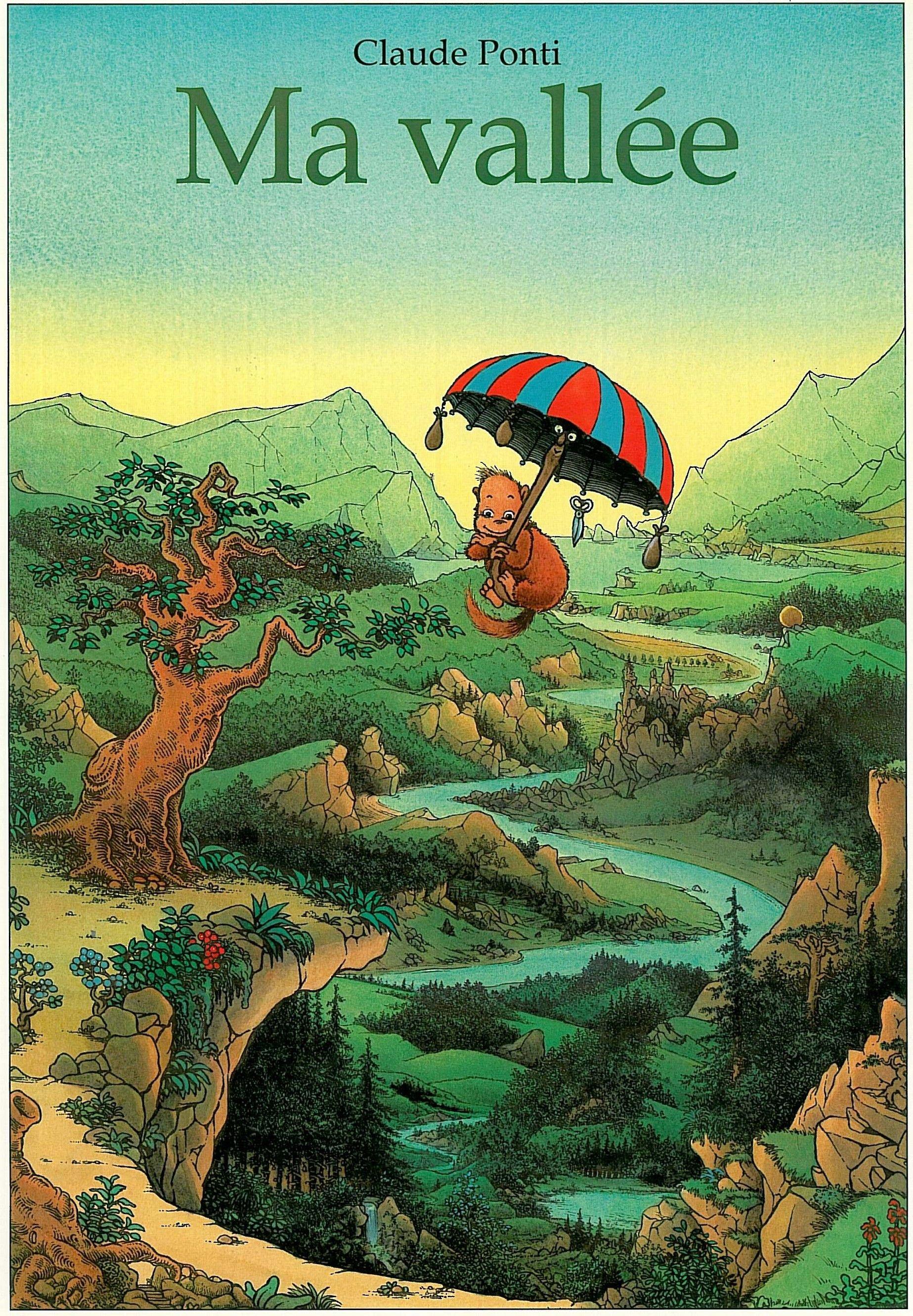 """Claude Ponti - Illustration (""""ma Vallée"""", L'école Des intérieur La Tempête Claude Ponti"""
