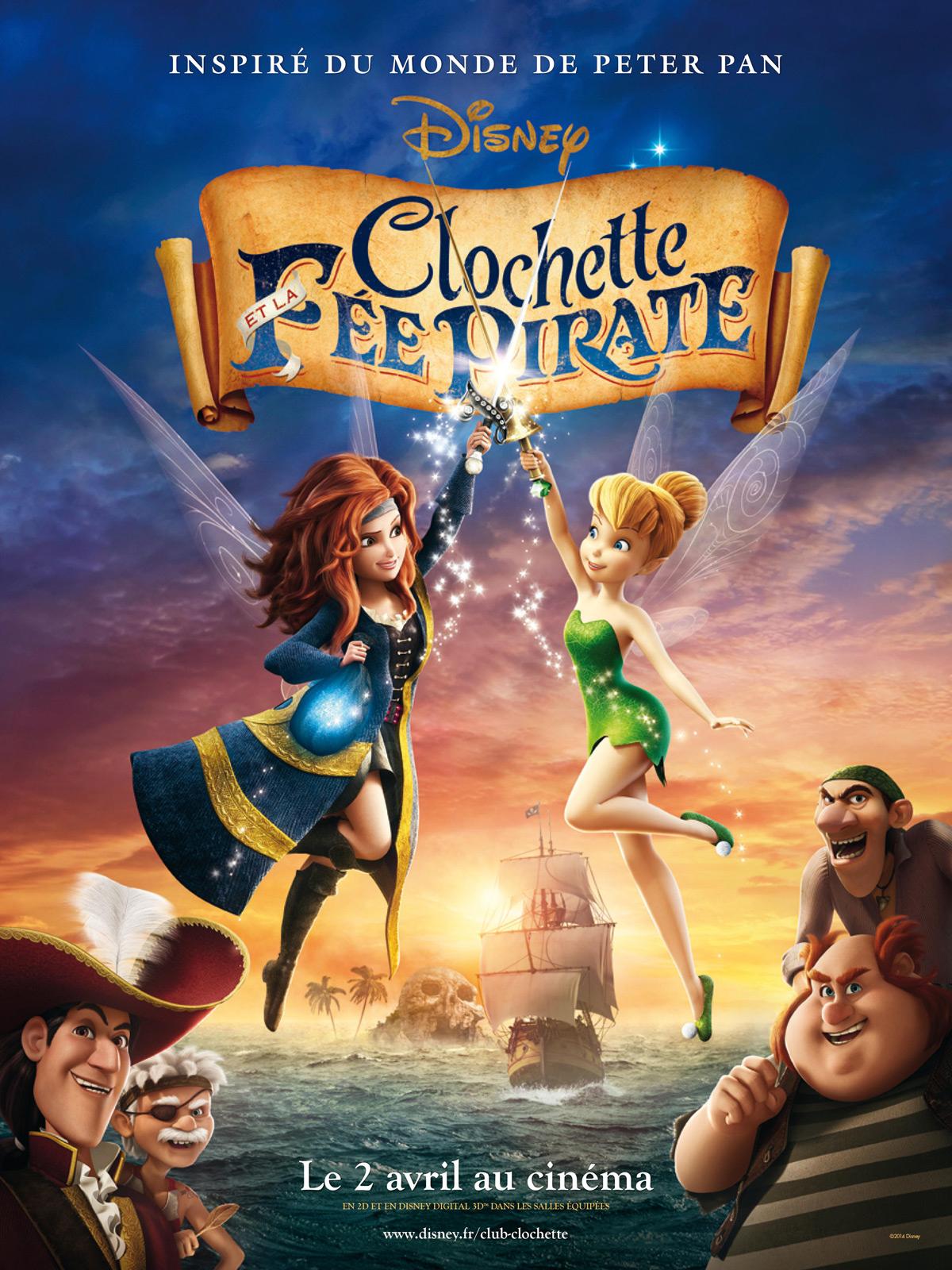 Clochette Et La Fée Pirate - Film 2014 - Allociné pour Histoires De Pirates Gratuit
