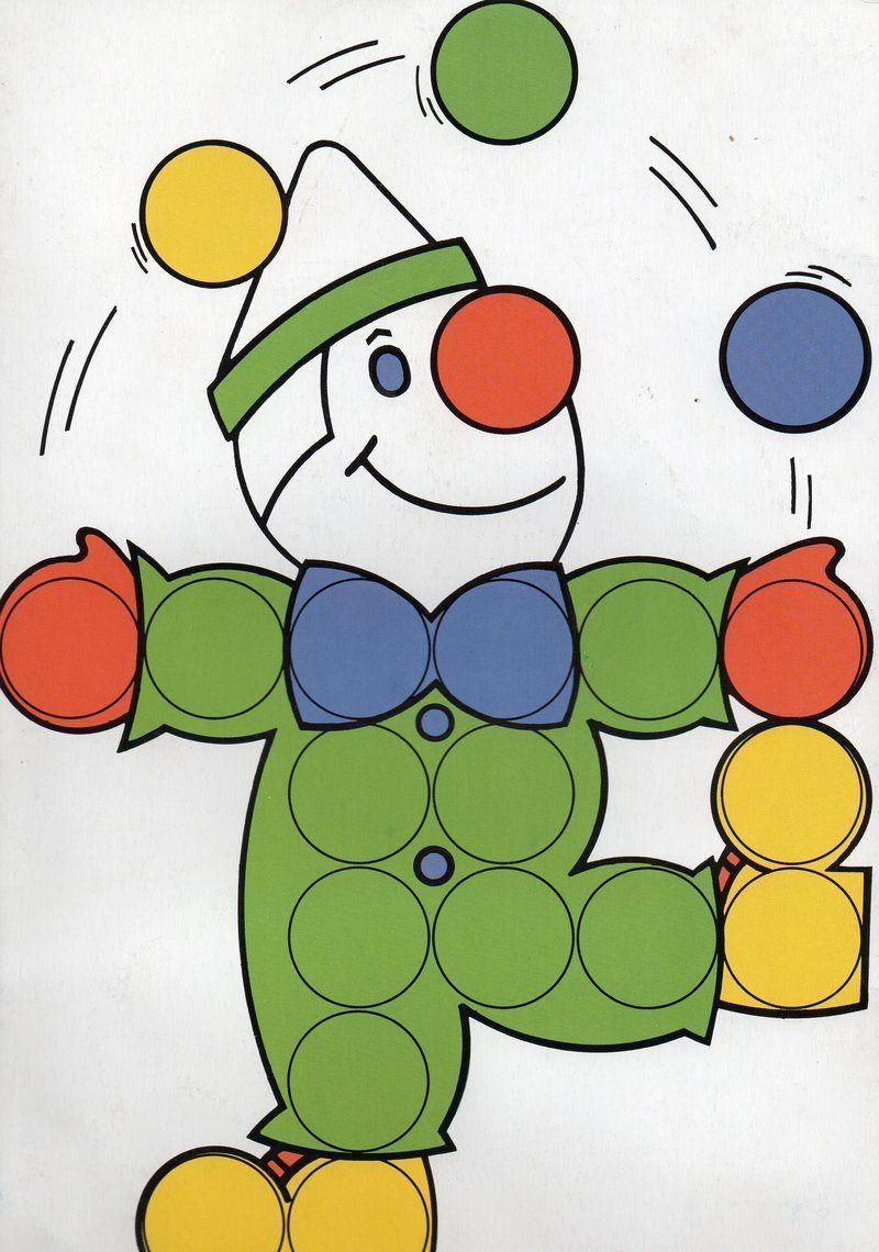 Clown | Jeux Maternelle, Playmais Et Carnaval dedans Colorino A Imprimer