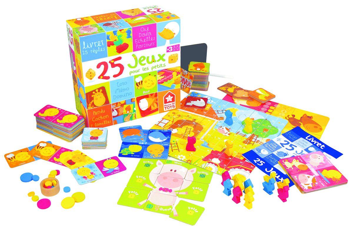 Coffret 25 Jeux Pour Enfants dedans Jeux Pour Petit Enfant