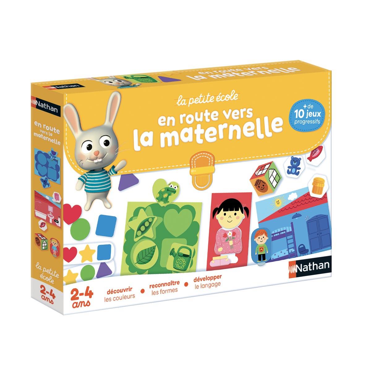 Coffret De Jeux En Route Vers La Maternelle avec Jeux Educatif 4 Ans