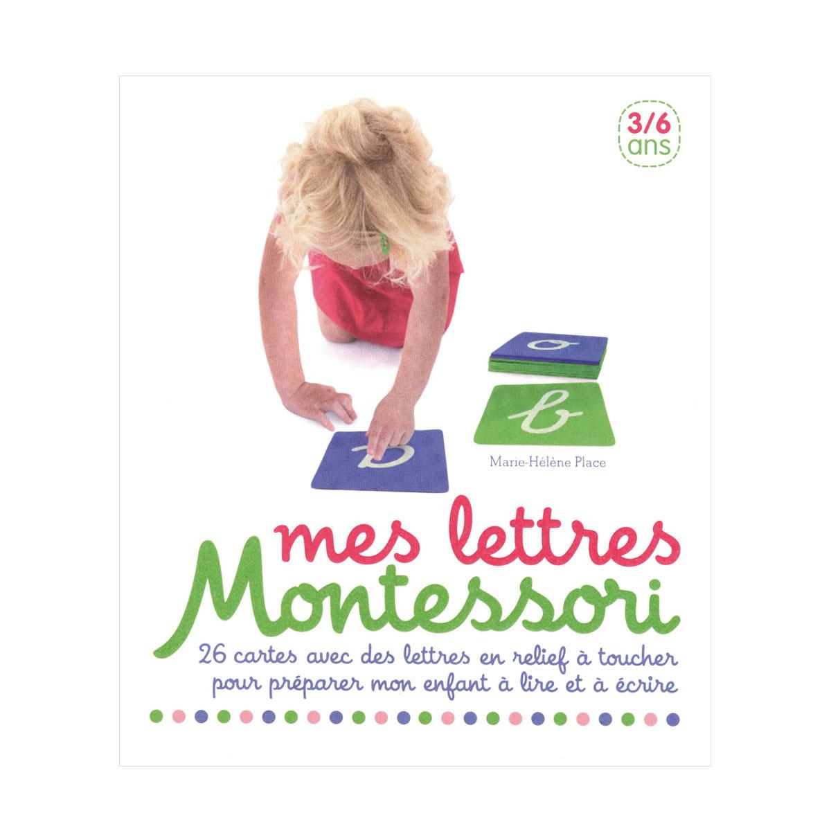 Coffret Mes Lettres Montessori dedans Jeux De Lettres Enfants