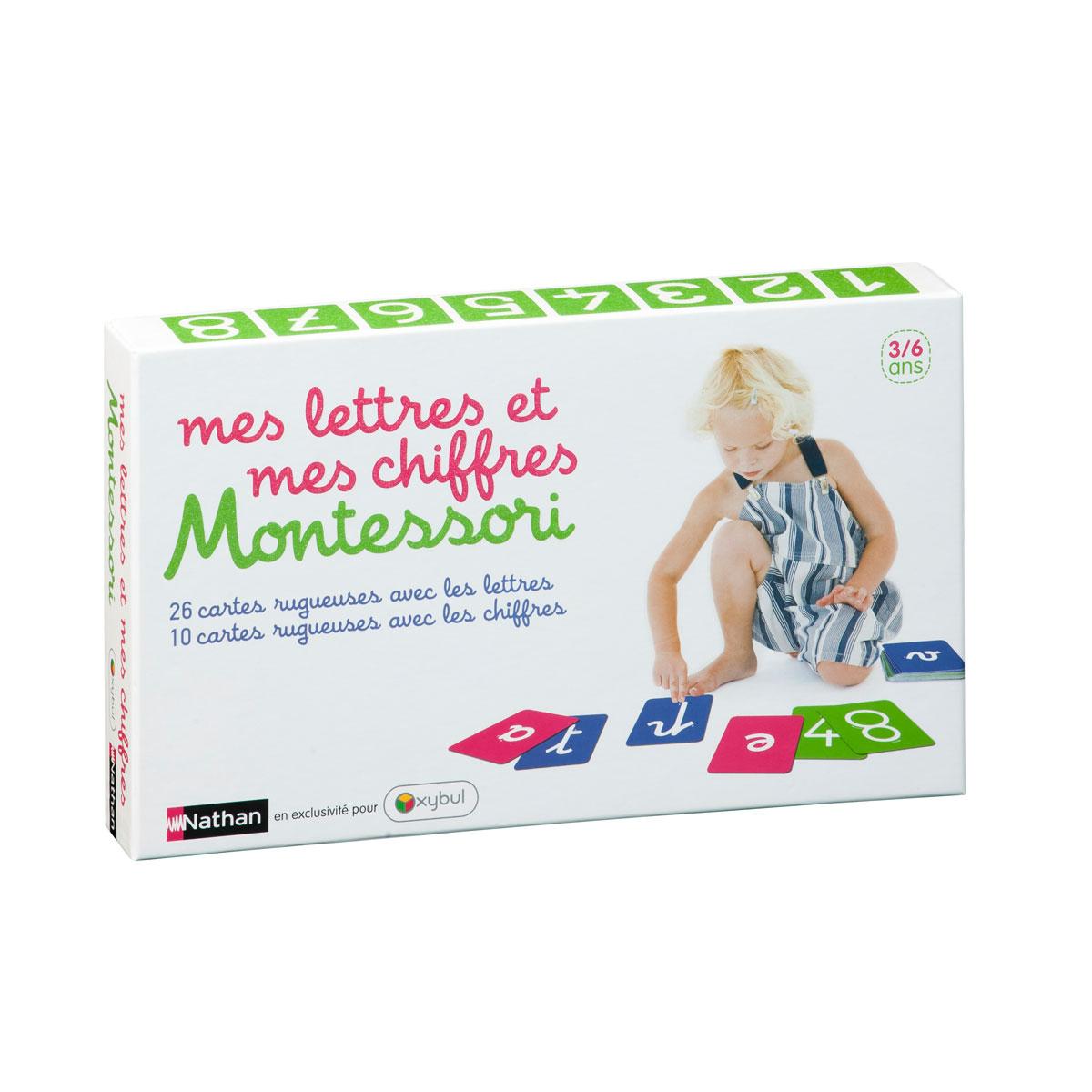Coffret Montessori Mes Lettres Et Mes Chiffres encequiconcerne Jeux De Lettres Enfants