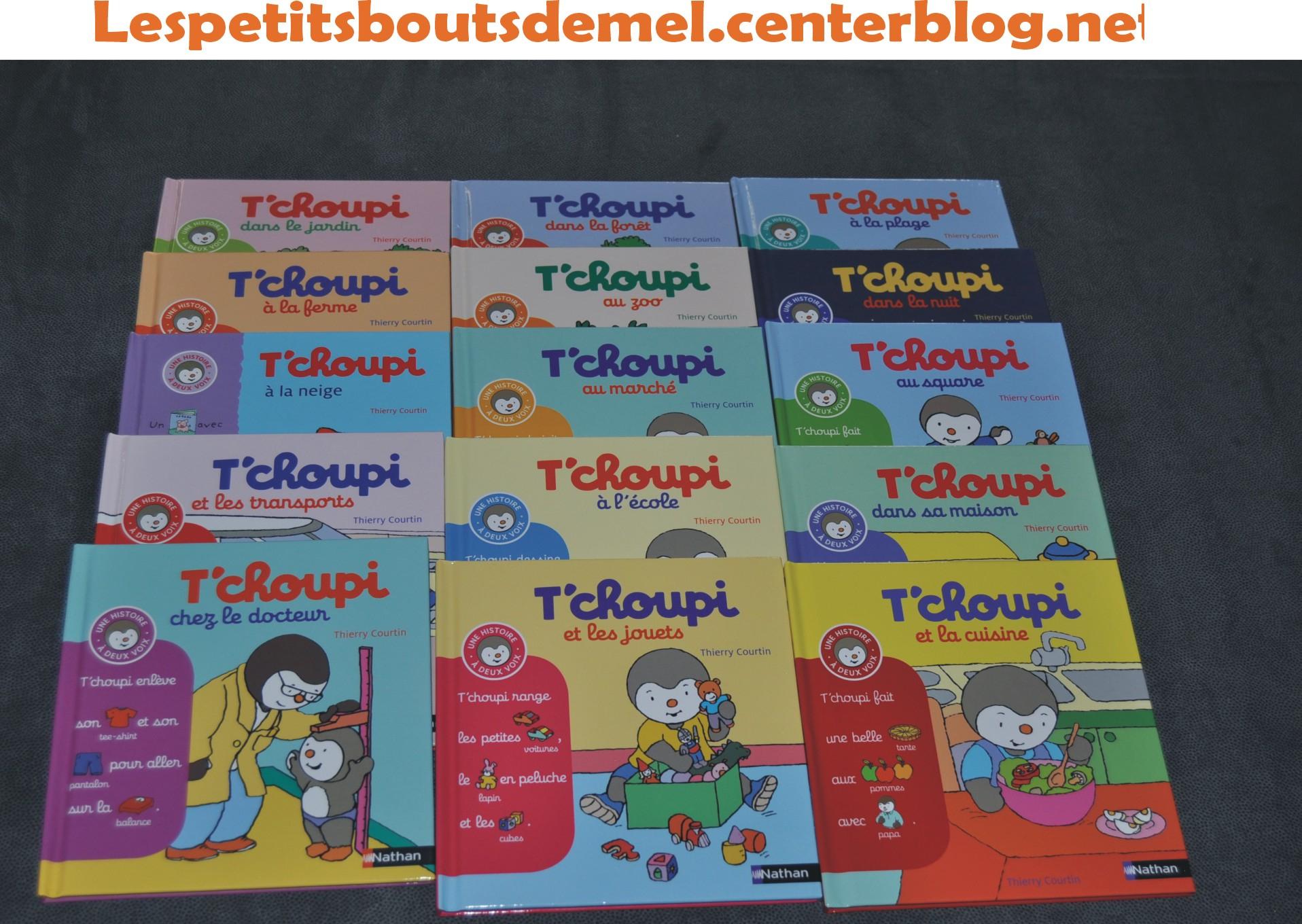 Collection Tchoupi Histoire À Deux Voix avec Tchoupi Au Marché