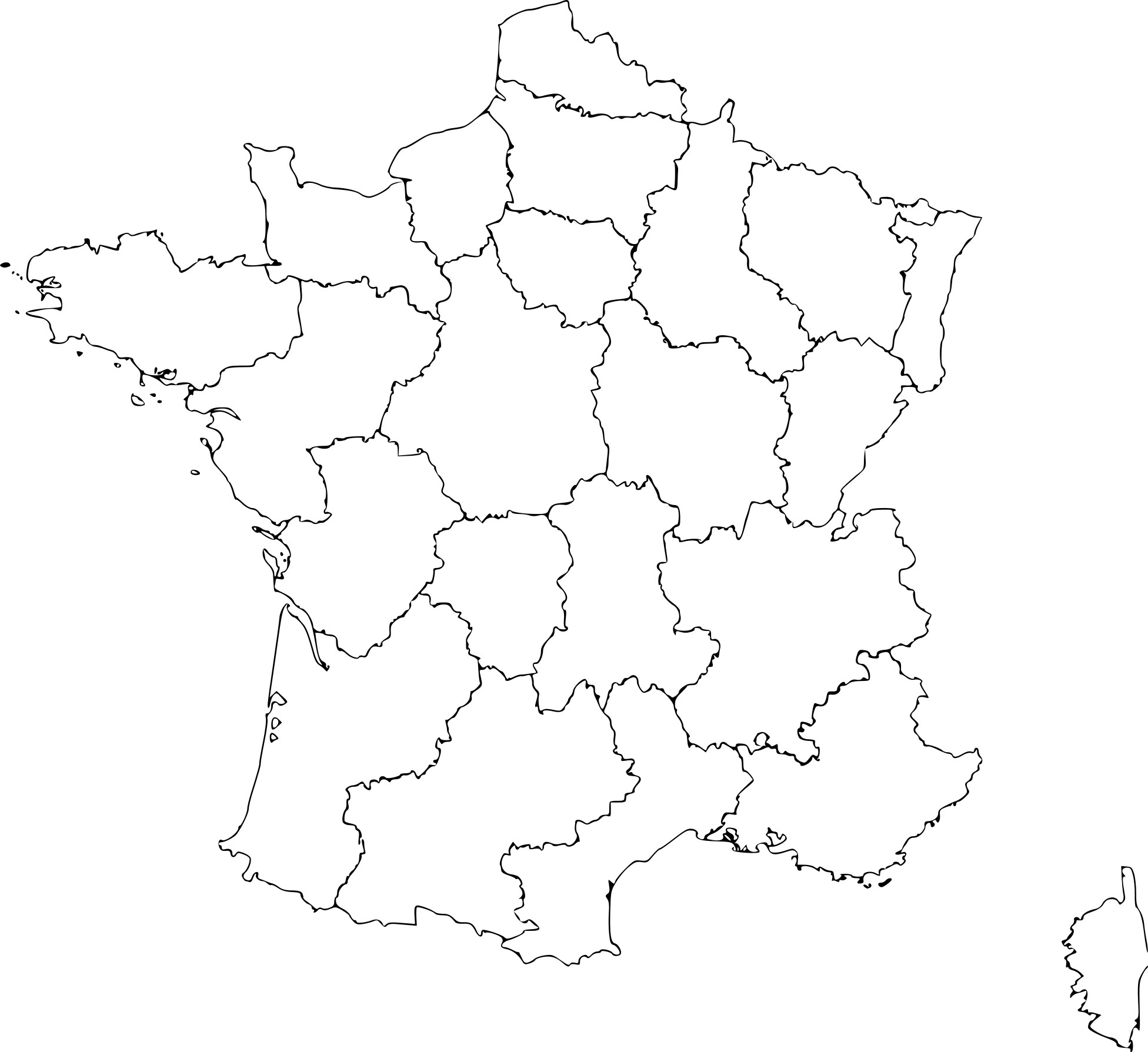 Coloriage Carte De La France À Imprimer Sur Coloriages destiné Imprimer Une Carte De France