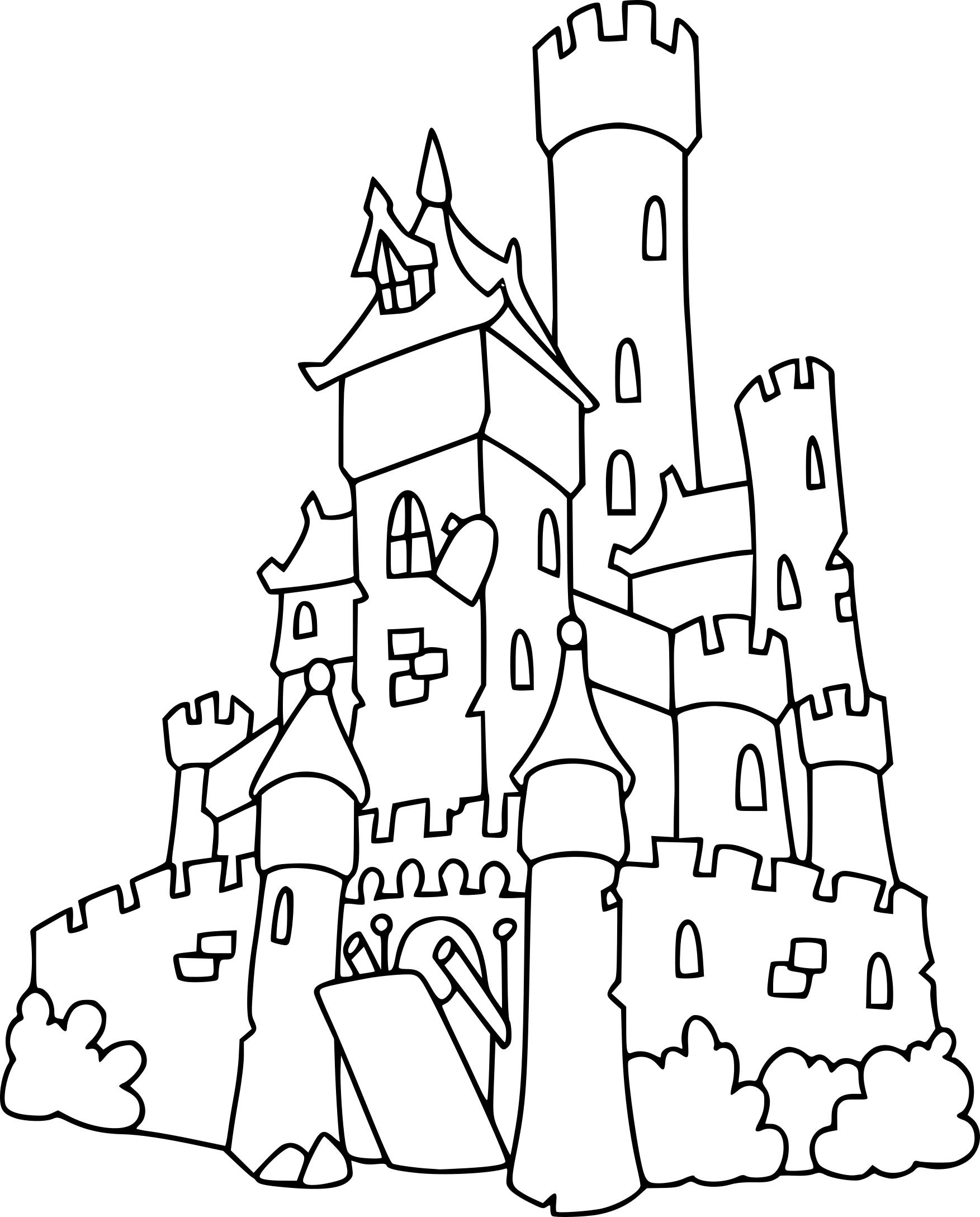 Coloriage Chateau Et Dessin À Imprimer tout Dessin Sur L Histoire