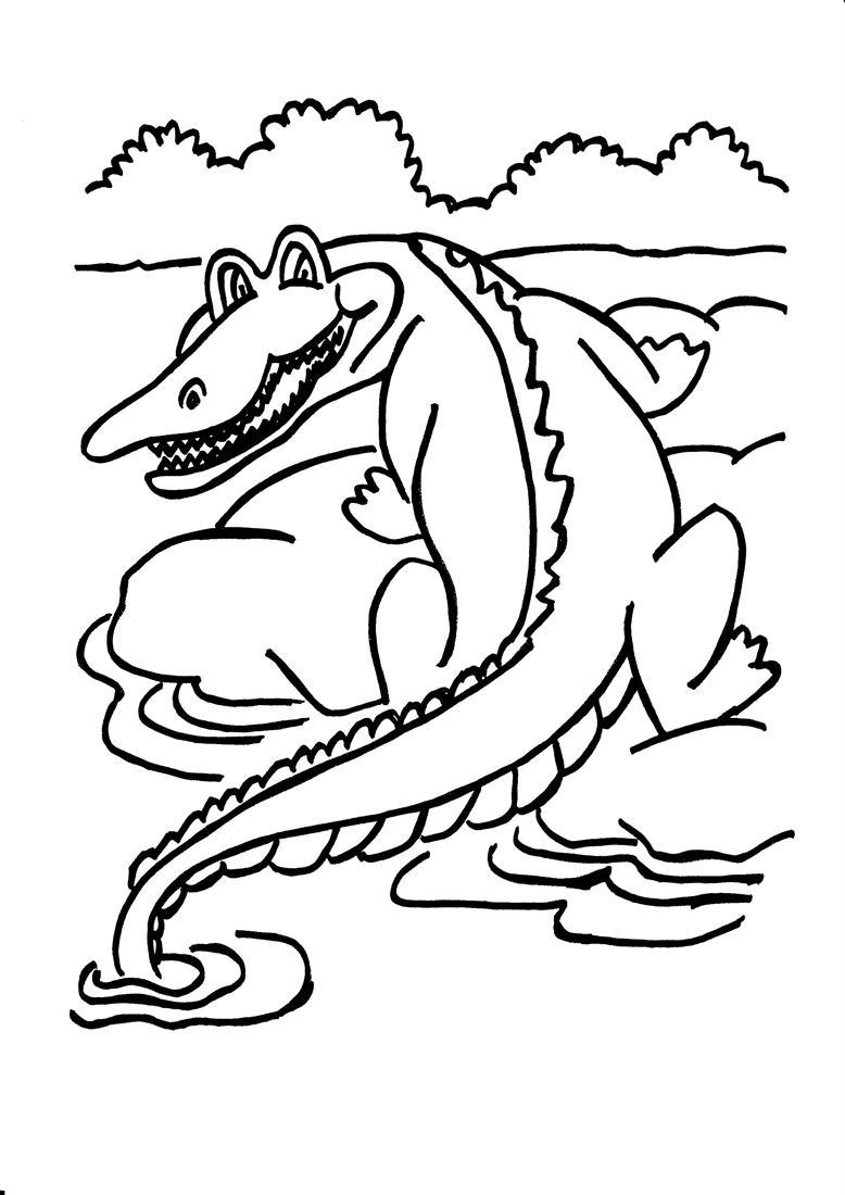 Coloriage Crocodile À Imprimer Et Colorier serapportantà Photo De Crocodile A Imprimer