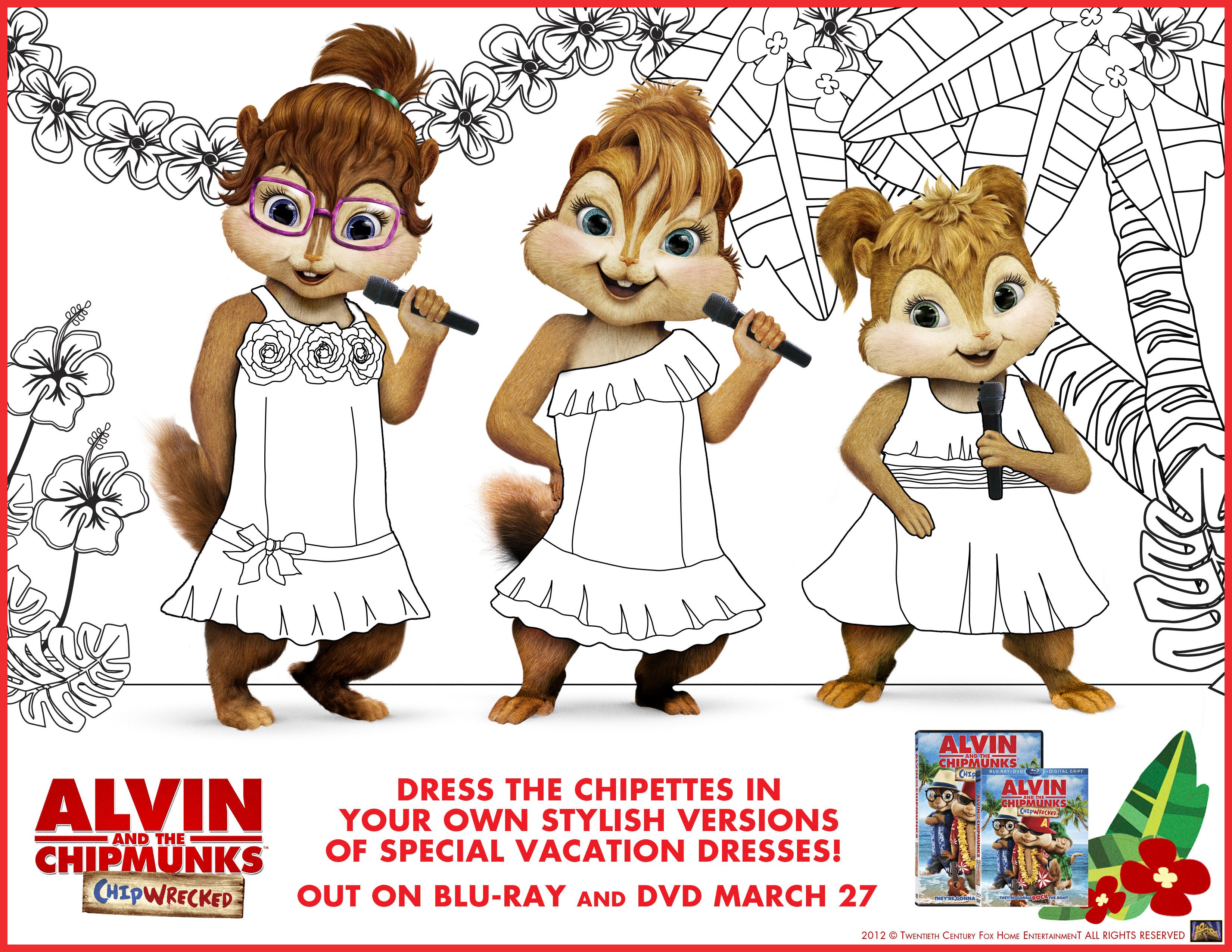 Coloriage De Alvin Et Les Chipmunks À Imprimer - Coloriage à Dessin De Alvin Et Les Chipmunks