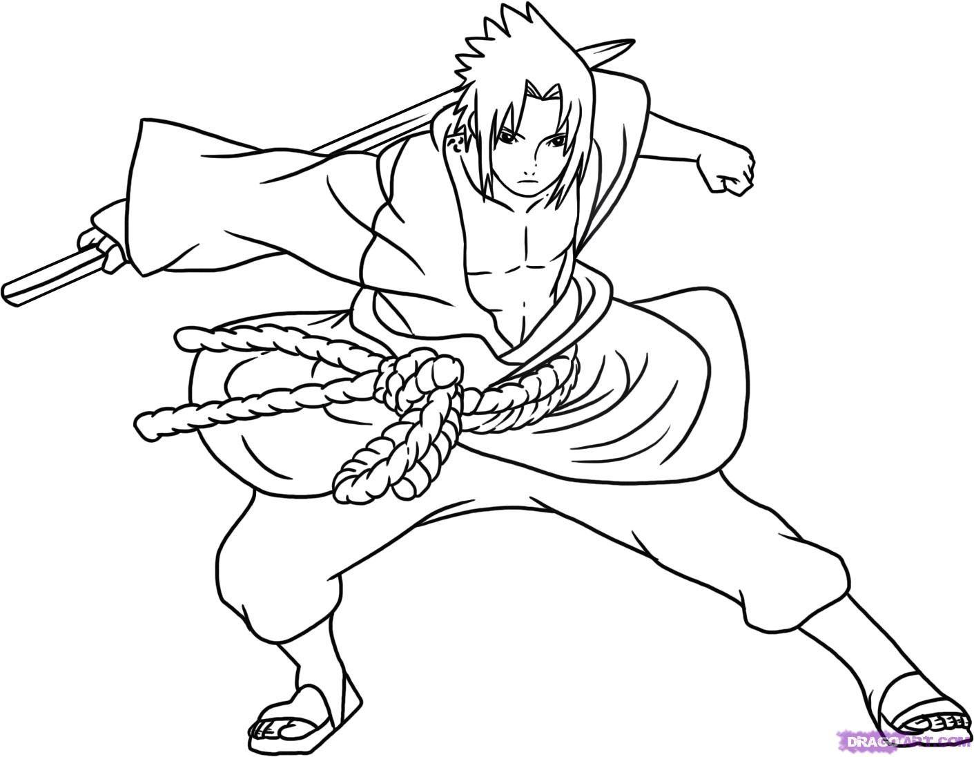 Coloriage De Naruto #48952 A Imprimer Et Colorier … (Avec destiné Coloriage De Naruto Shippuden A Imprimer