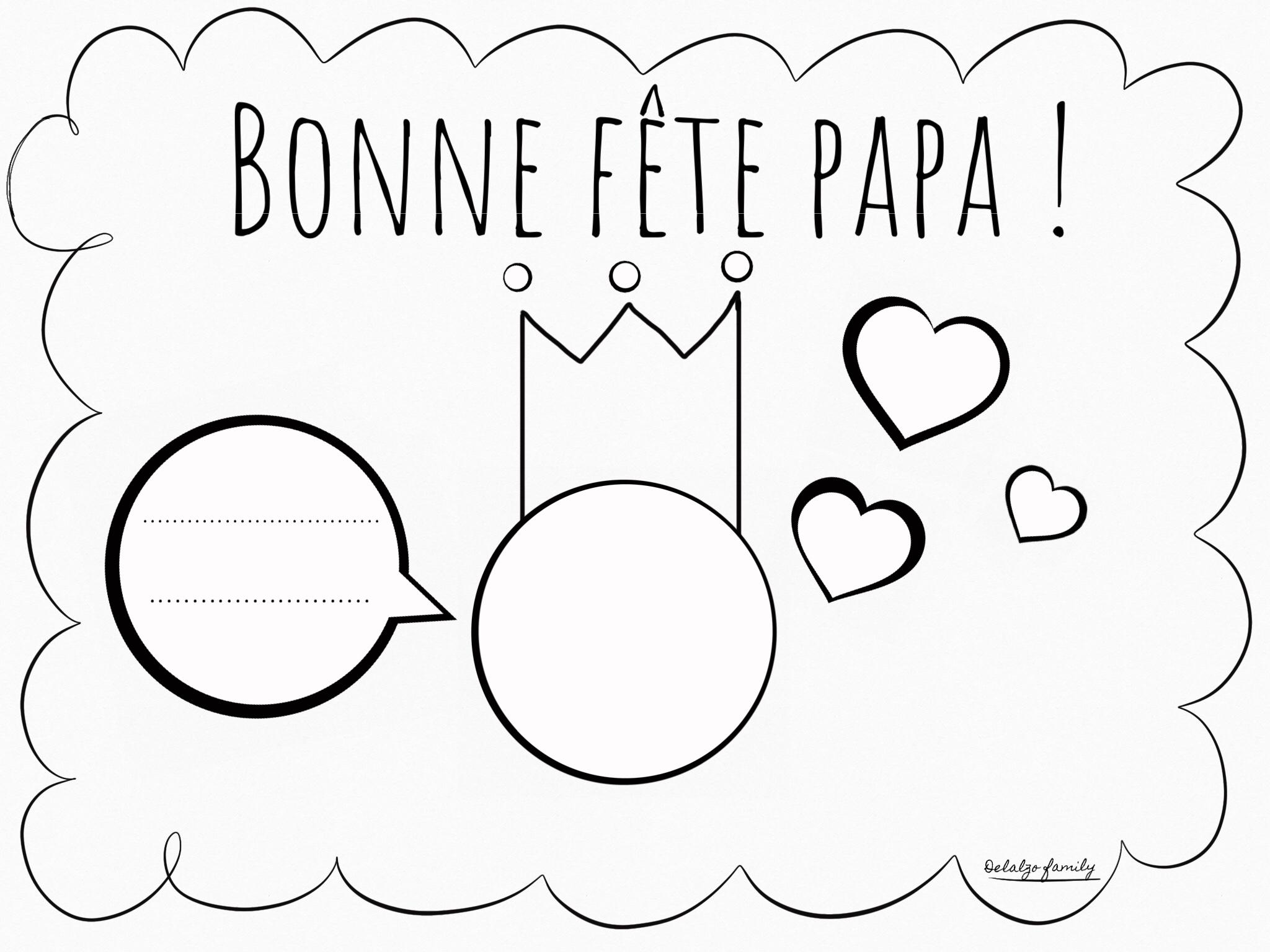 Coloriage Fête Des Pères! – Delalzo Family dedans Coloriage Fete Des Peres