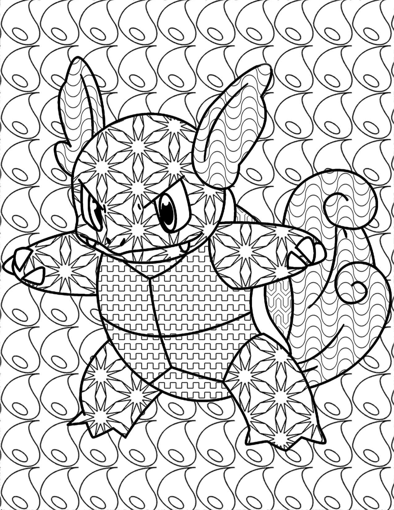 Coloriage Mandala Pokemon. Imprimez Gratuitement, Plus De 80 destiné Coloriage De Pokémon Gratuit