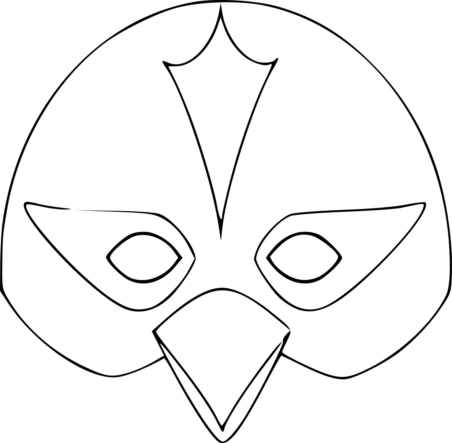 Coloriage Masque Pingouin À Imprimer Sur Coloriages intérieur Masque Canard À Imprimer