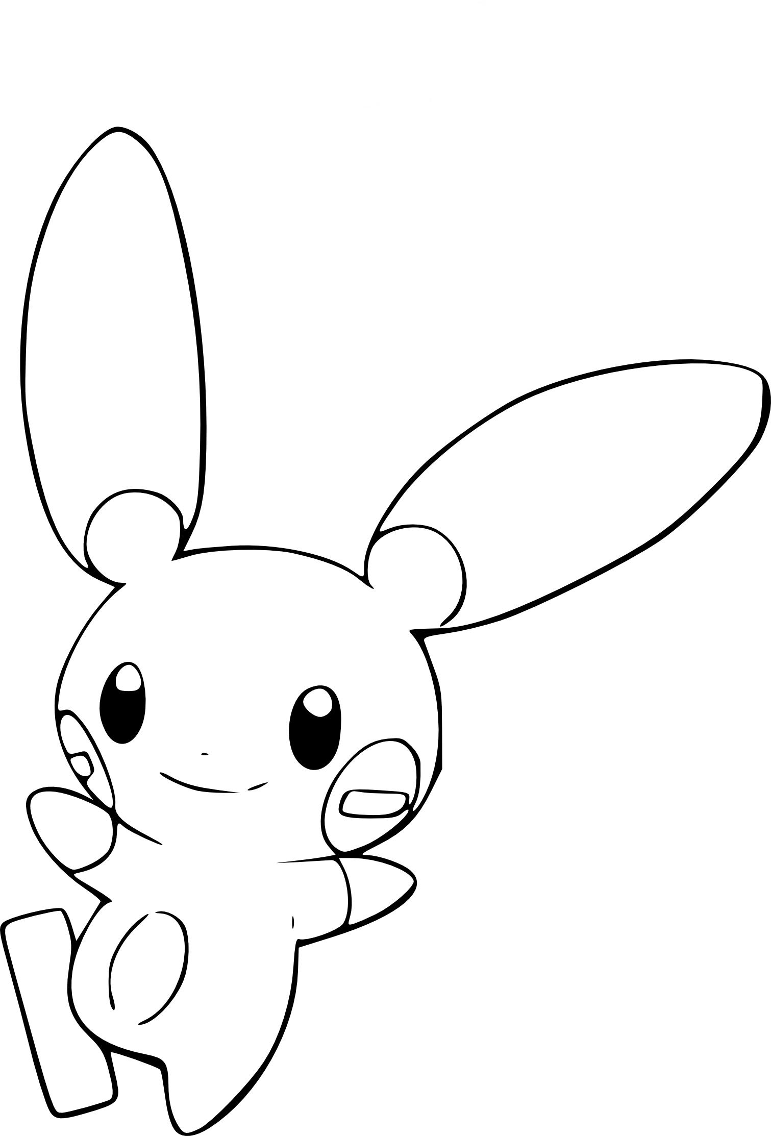 Coloriage Négapi Pokemon Gratuit À Imprimer avec Coloriage De Pokémon Gratuit
