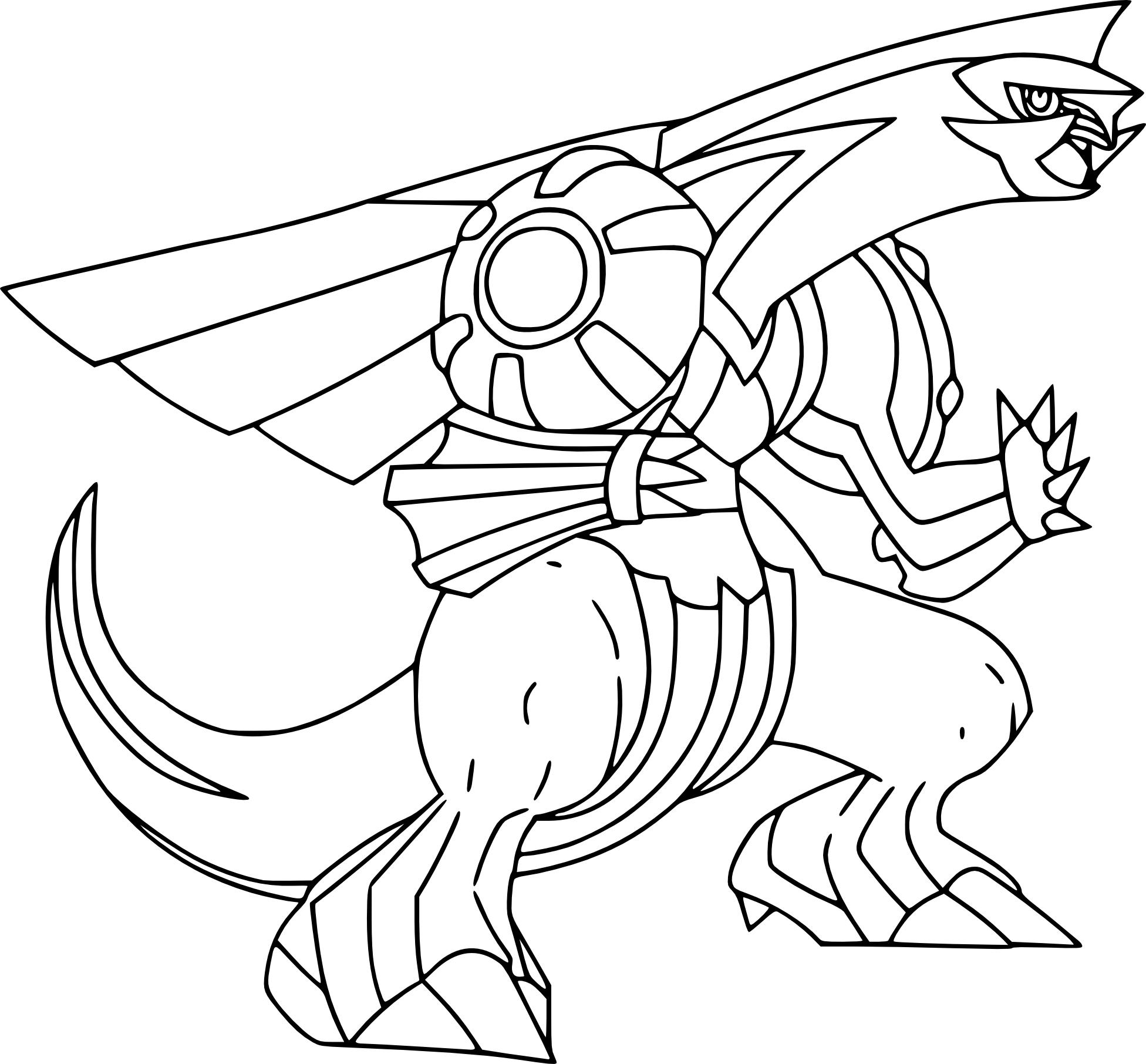 Coloriage Palkia Pokemon À Imprimer serapportantà Imprimer Coloriage Pokemon